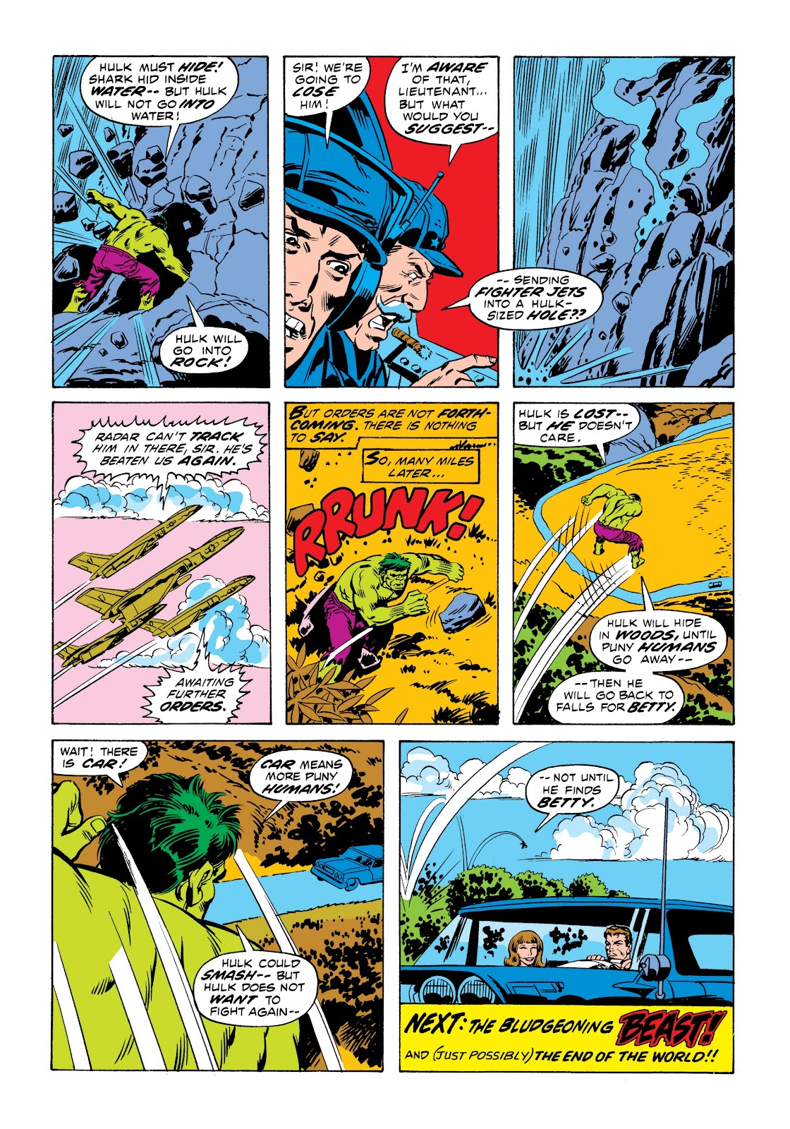 Read online Marvel Masterworks: The Incredible Hulk comic -  Issue # TPB 9 (Part 1) - 92