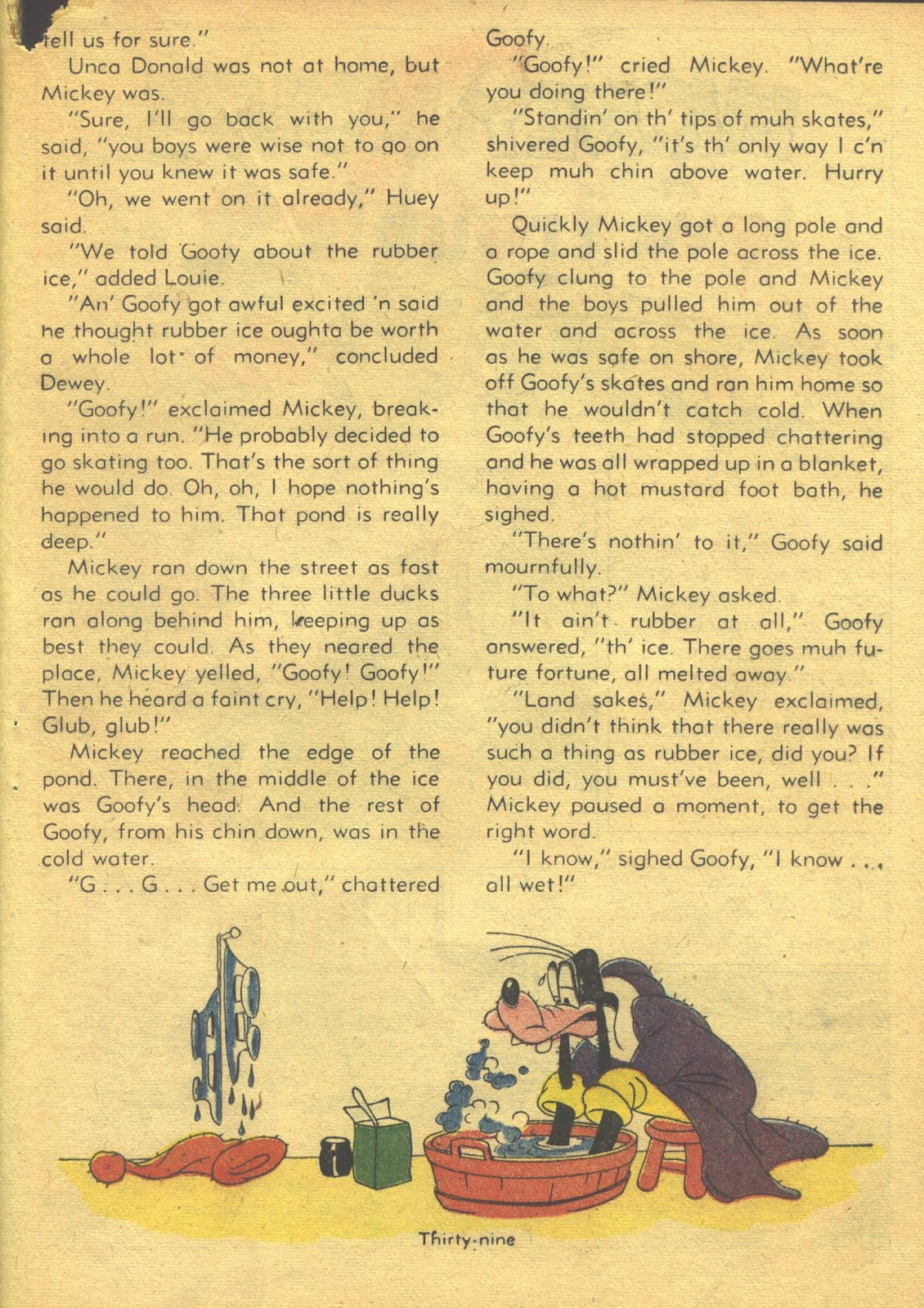 Walt Disney's Comics and Stories issue 39 - Page 41