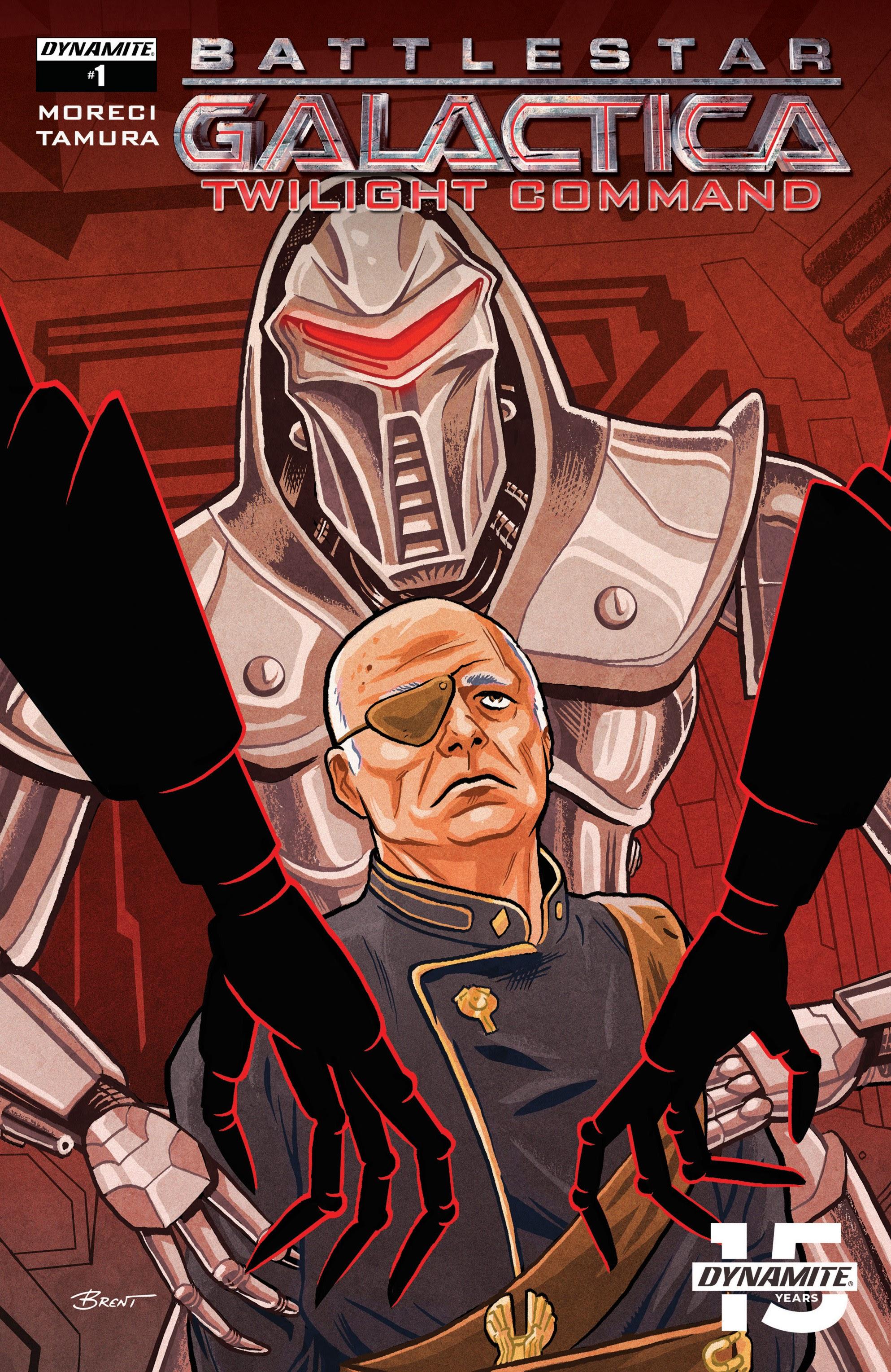 Battlestar Galactica: Twilight Command 1 Page 1
