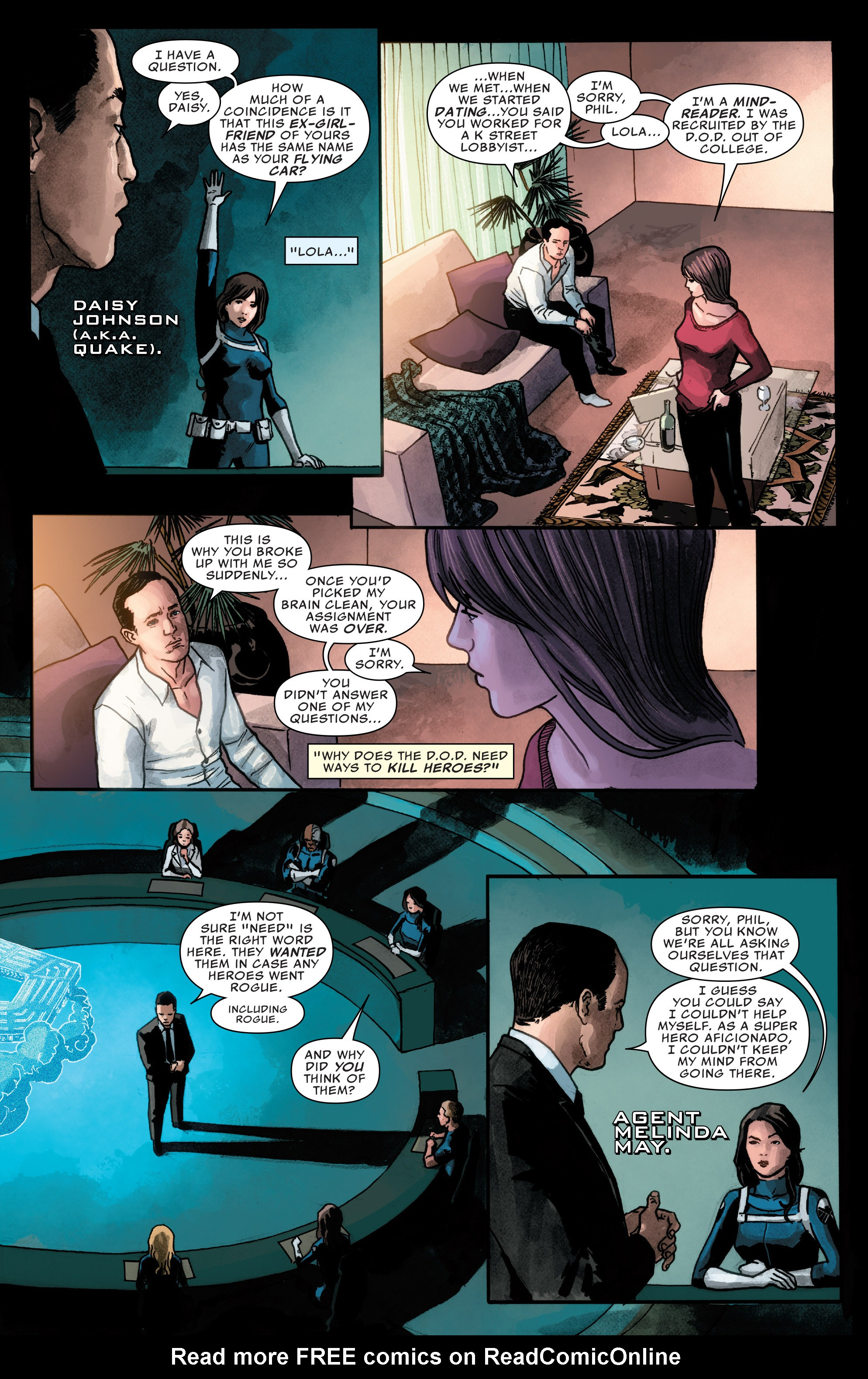 Read online Agents of S.H.I.E.L.D. comic -  Issue #2 - 5