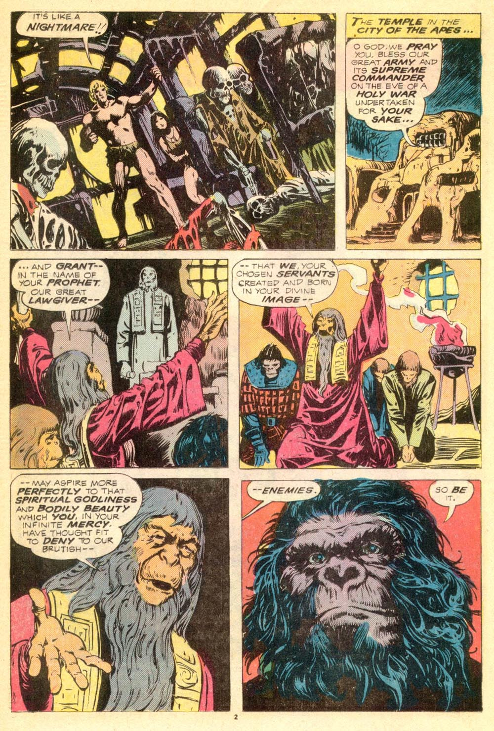 Read online Adventures on the Planet of the Apes comic -  Issue #9 - 3