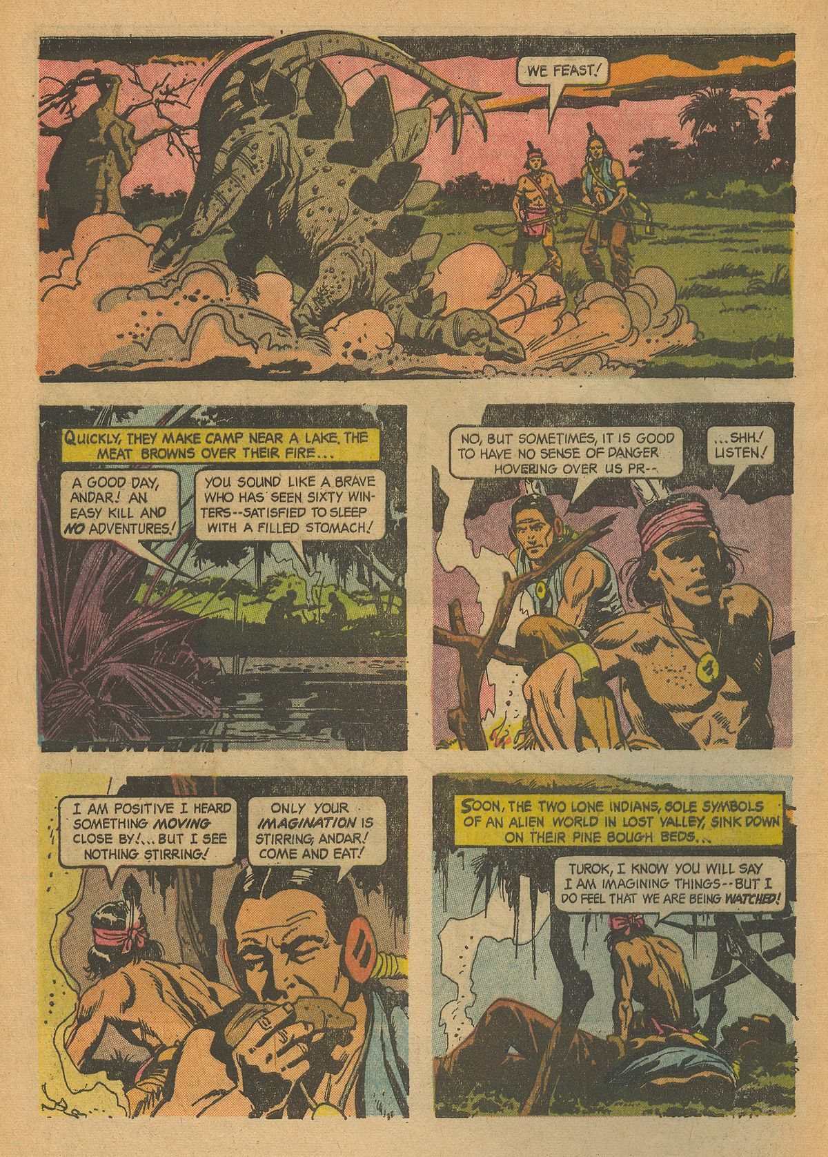 Read online Turok, Son of Stone comic -  Issue #43 - 4