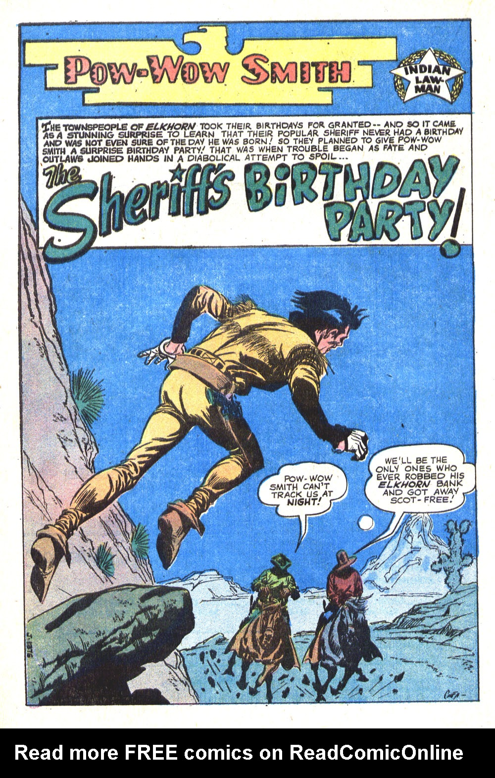 Read online All-Star Western (1970) comic -  Issue #8 - 28