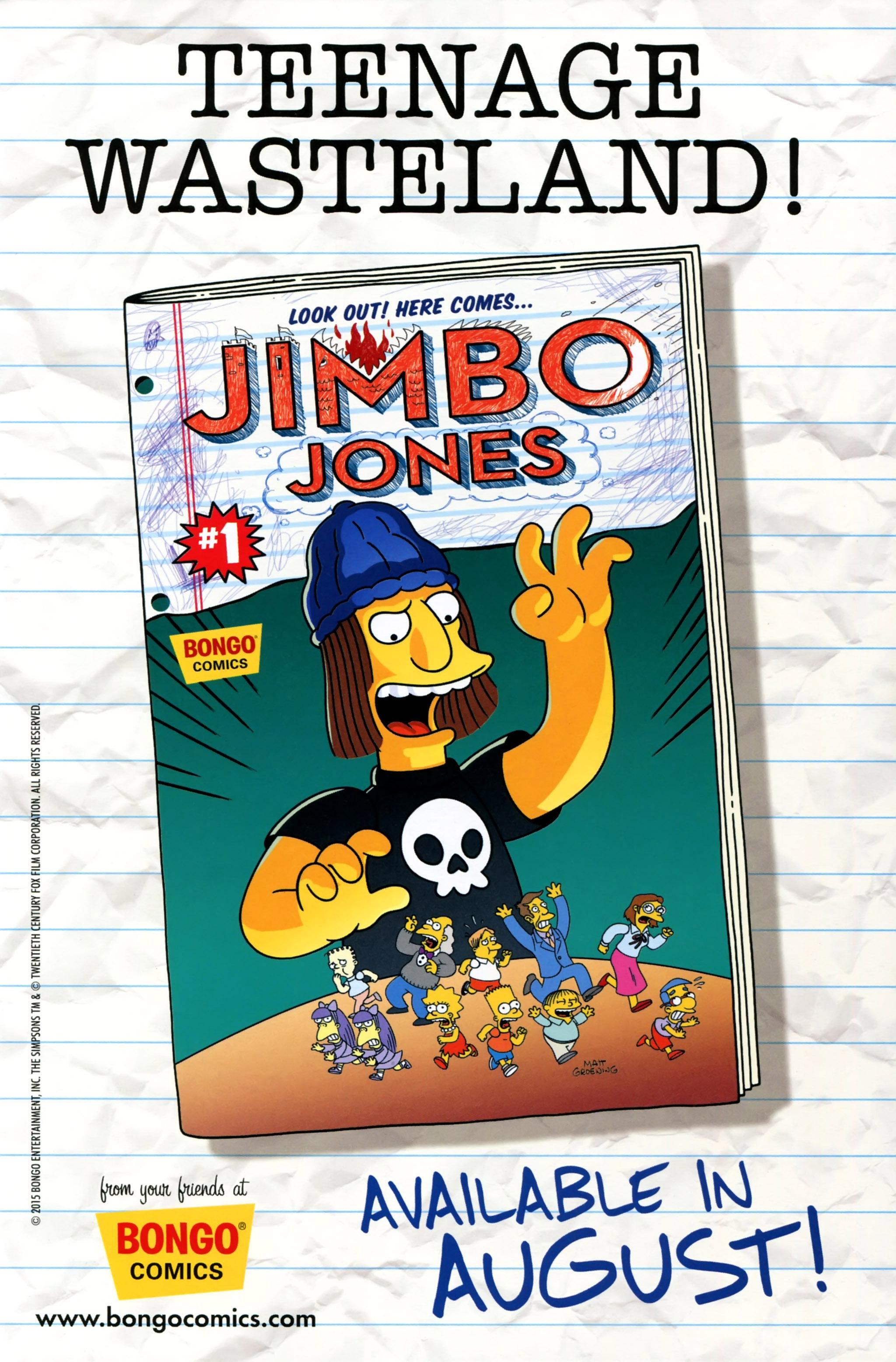 Read online Simpsons Comics comic -  Issue #223 - 27