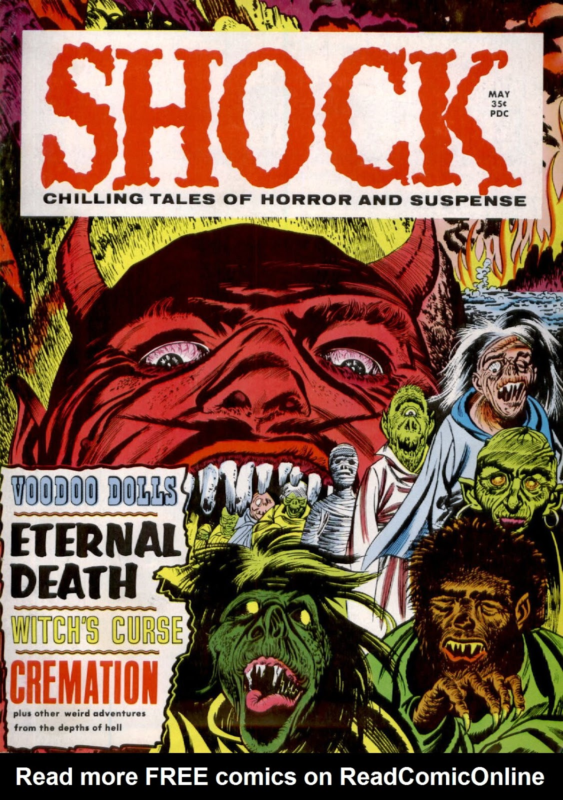 Shock (1969) issue 1 - Page 1
