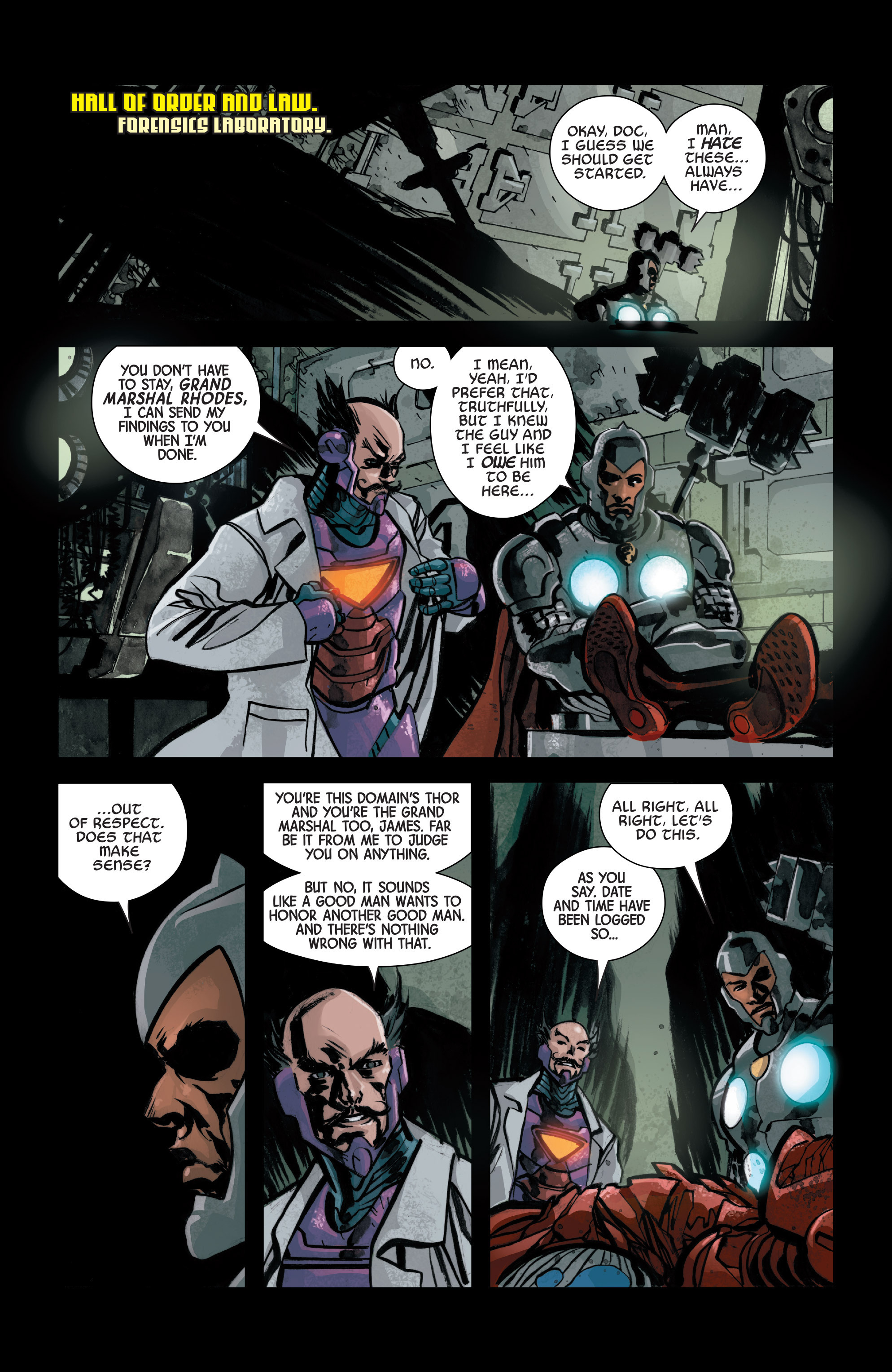 Read online Armor Wars comic -  Issue #2 - 4