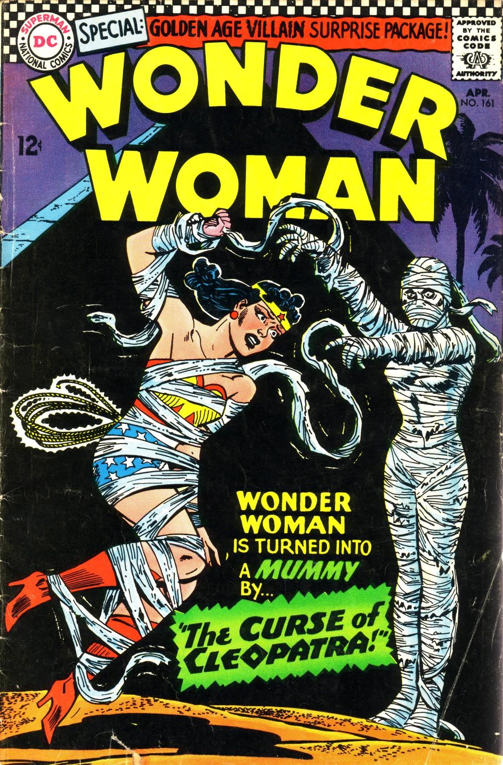 Read online Wonder Woman (1942) comic -  Issue #161 - 1