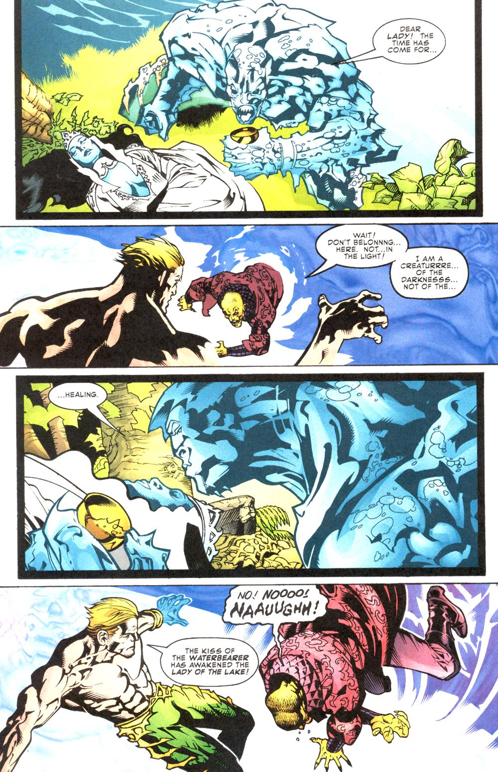 Read online Aquaman (2003) comic -  Issue #12 - 17