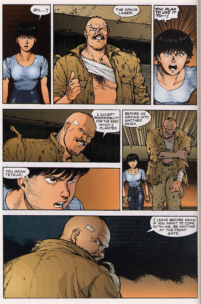 Read online Akira comic -  Issue #24 - 42