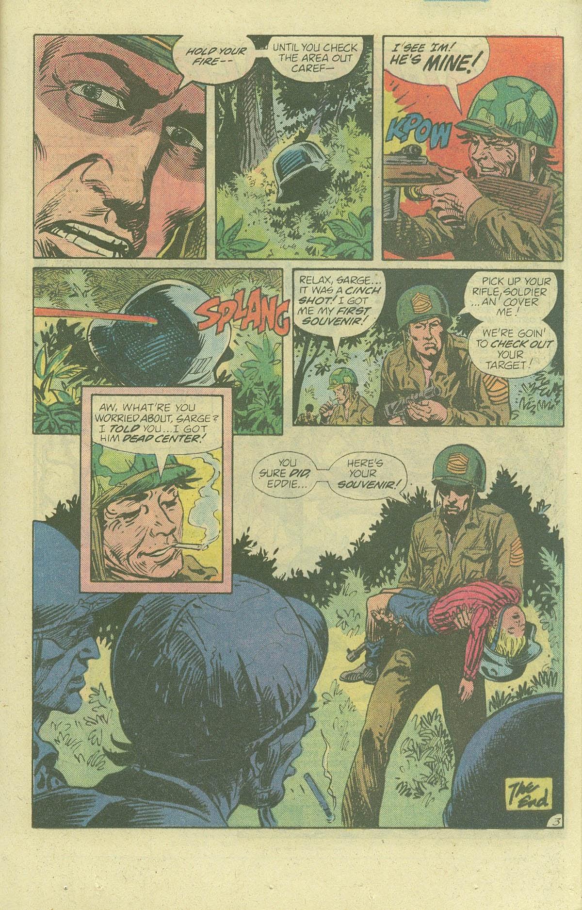 Read online Sgt. Rock comic -  Issue #378 - 20