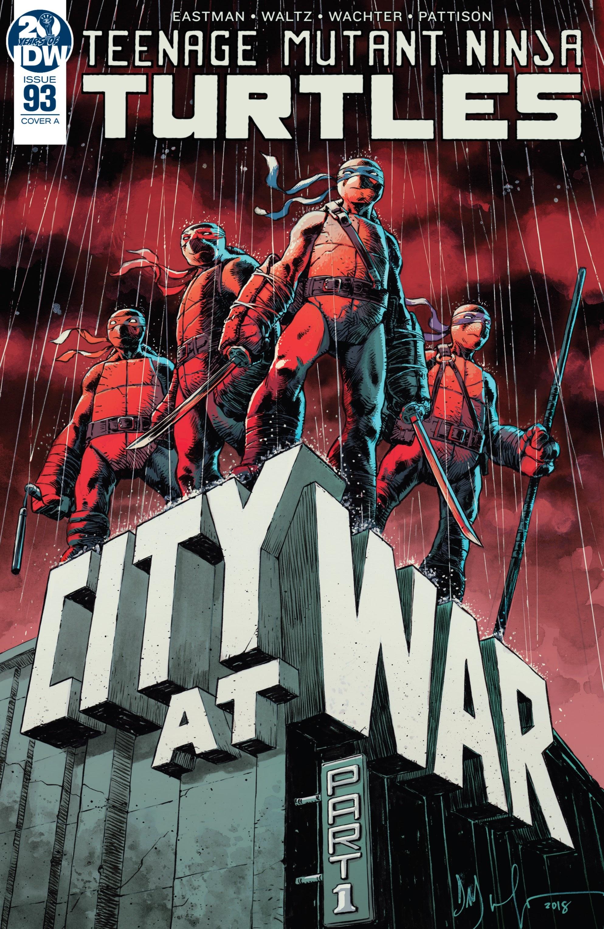 Teenage Mutant Ninja Turtles (2011) 93 Page 1