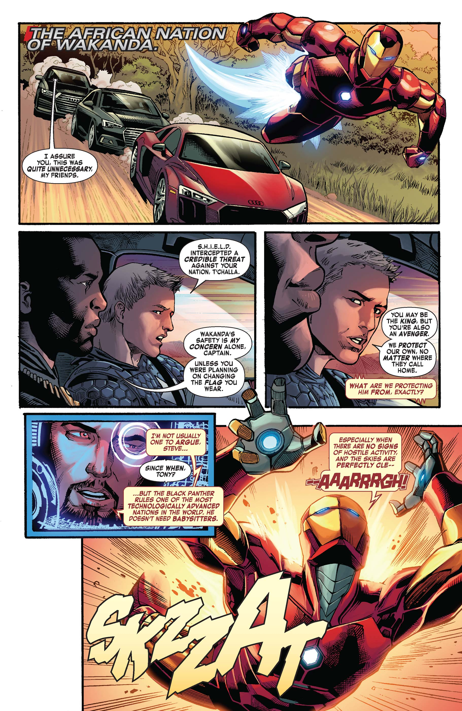 Read online Avengers: King of the Road comic -  Issue # Full - 2
