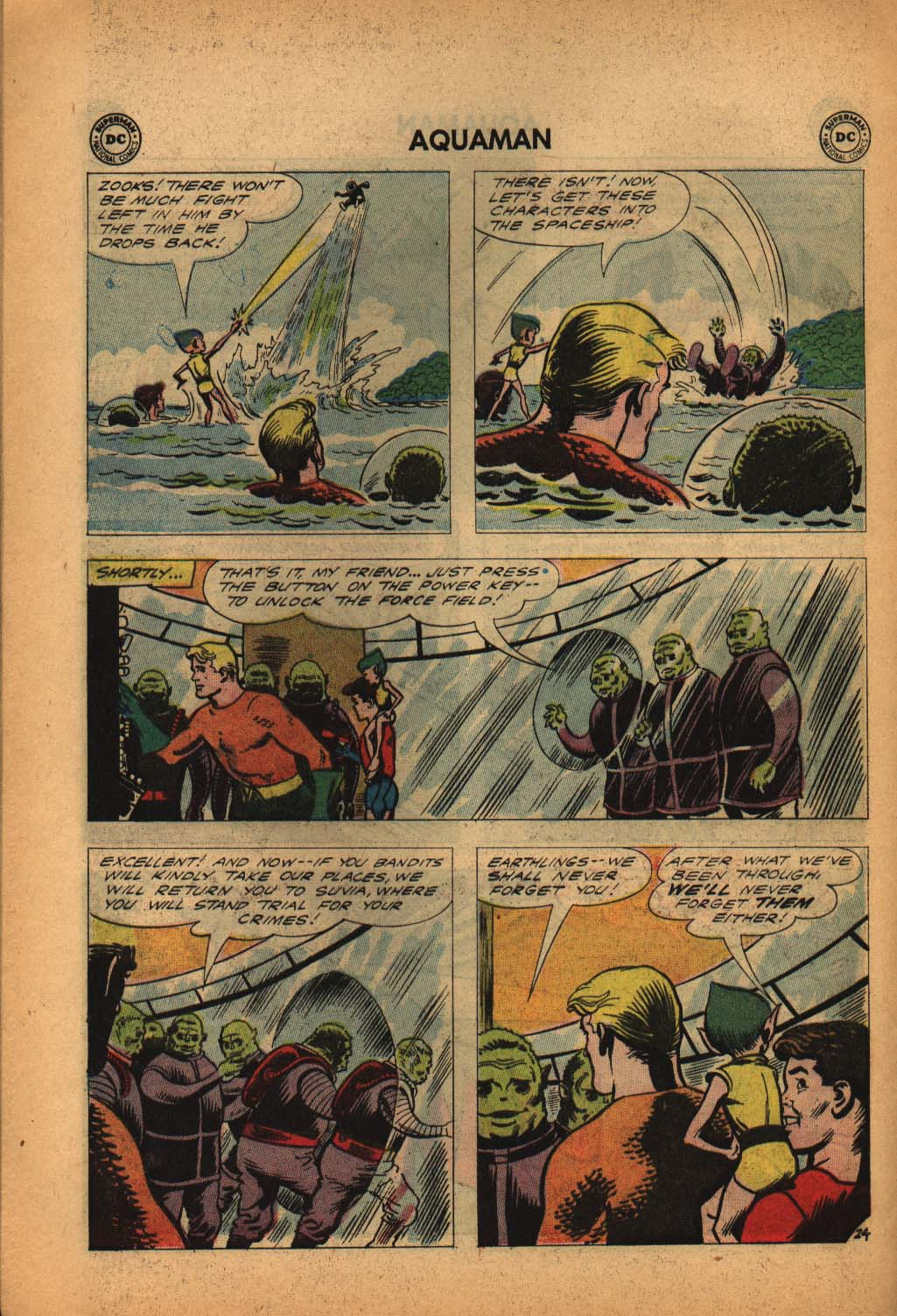 Read online Aquaman (1962) comic -  Issue #4 - 32