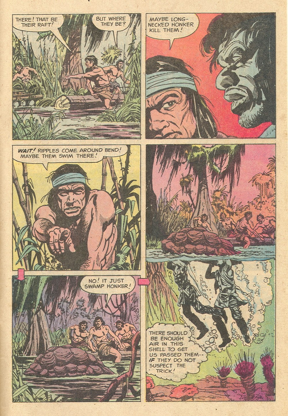 Read online Turok, Son of Stone comic -  Issue #129 - 33