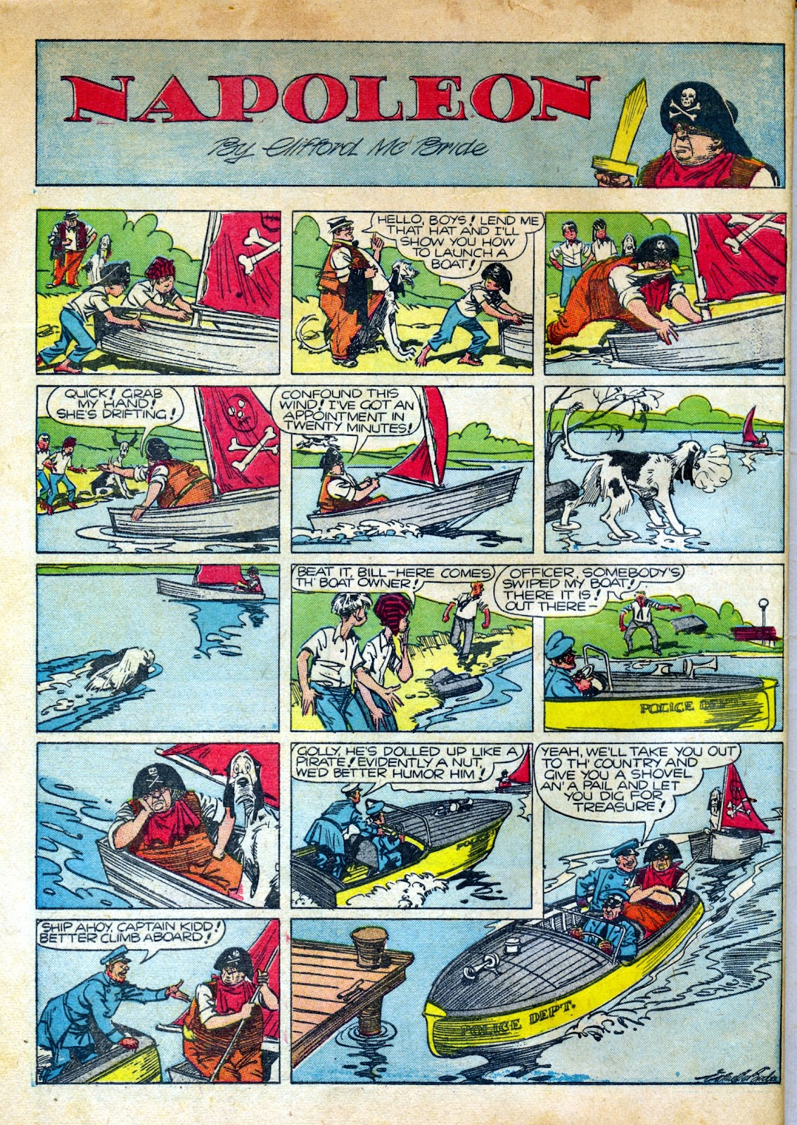 Read online Famous Funnies comic -  Issue #82 - 66