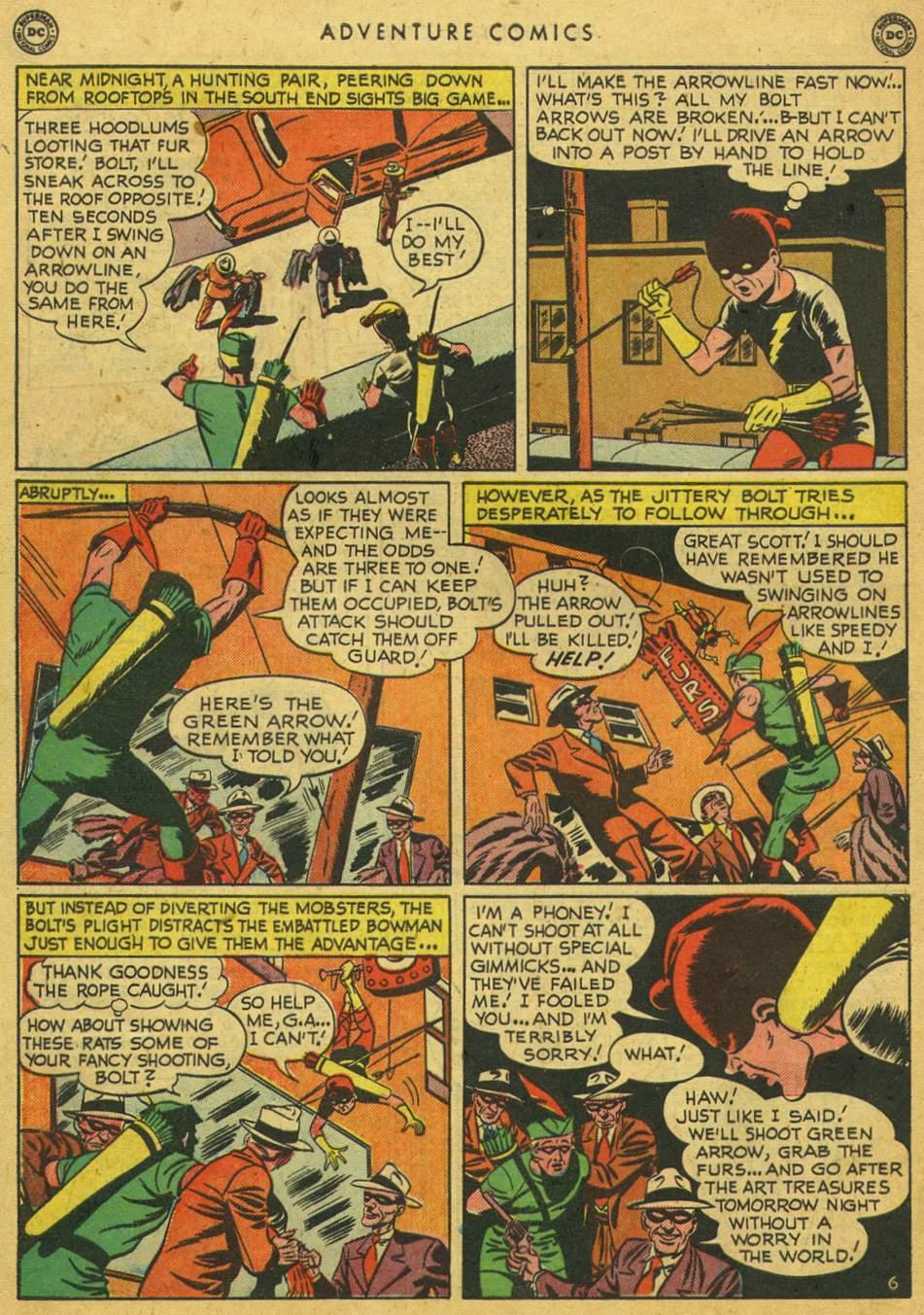 Read online Adventure Comics (1938) comic -  Issue #164 - 44
