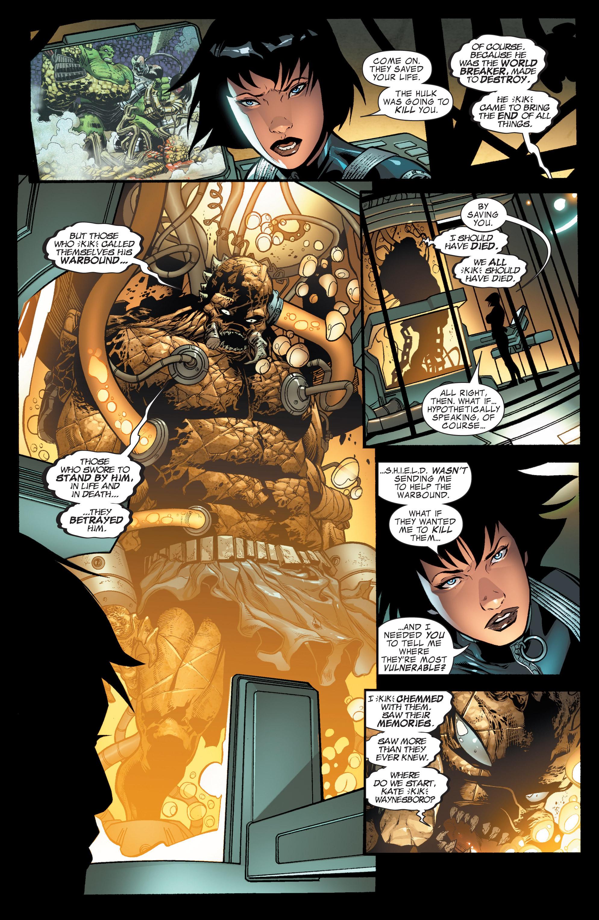 Read online World War Hulk Aftersmash: Warbound, Vol. 1 comic -  Issue #1 - 21