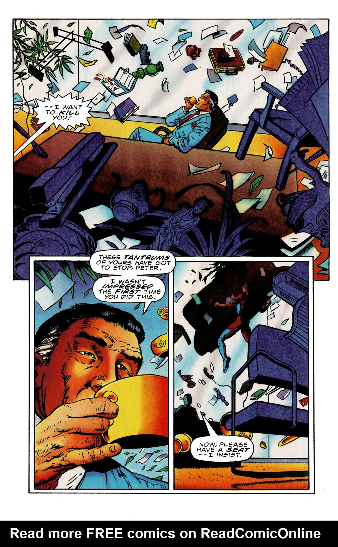 Read online Harbinger (1992) comic -  Issue #25 - 19