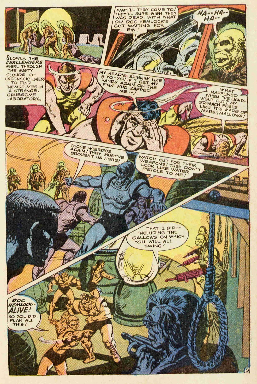 Challengers of the Unknown (1958) issue 64 - Page 10