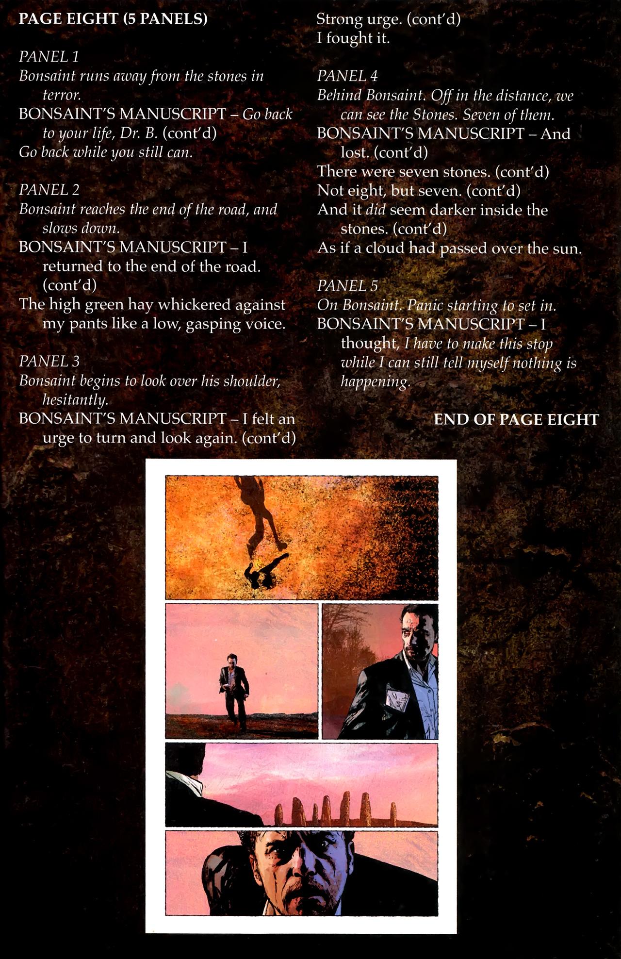 Read online Stephen King's N. comic -  Issue #3 - 32