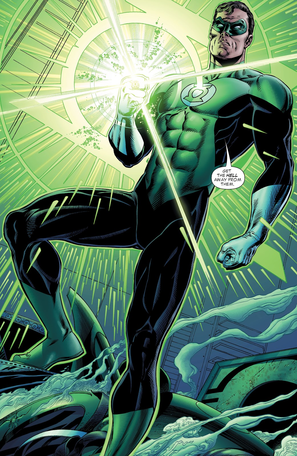 Read online Green Lantern by Geoff Johns comic -  Issue # TPB 1 (Part 2) - 11
