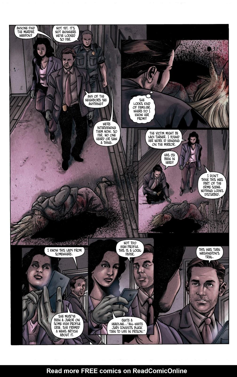 Read online Vindication comic -  Issue #1 - 15