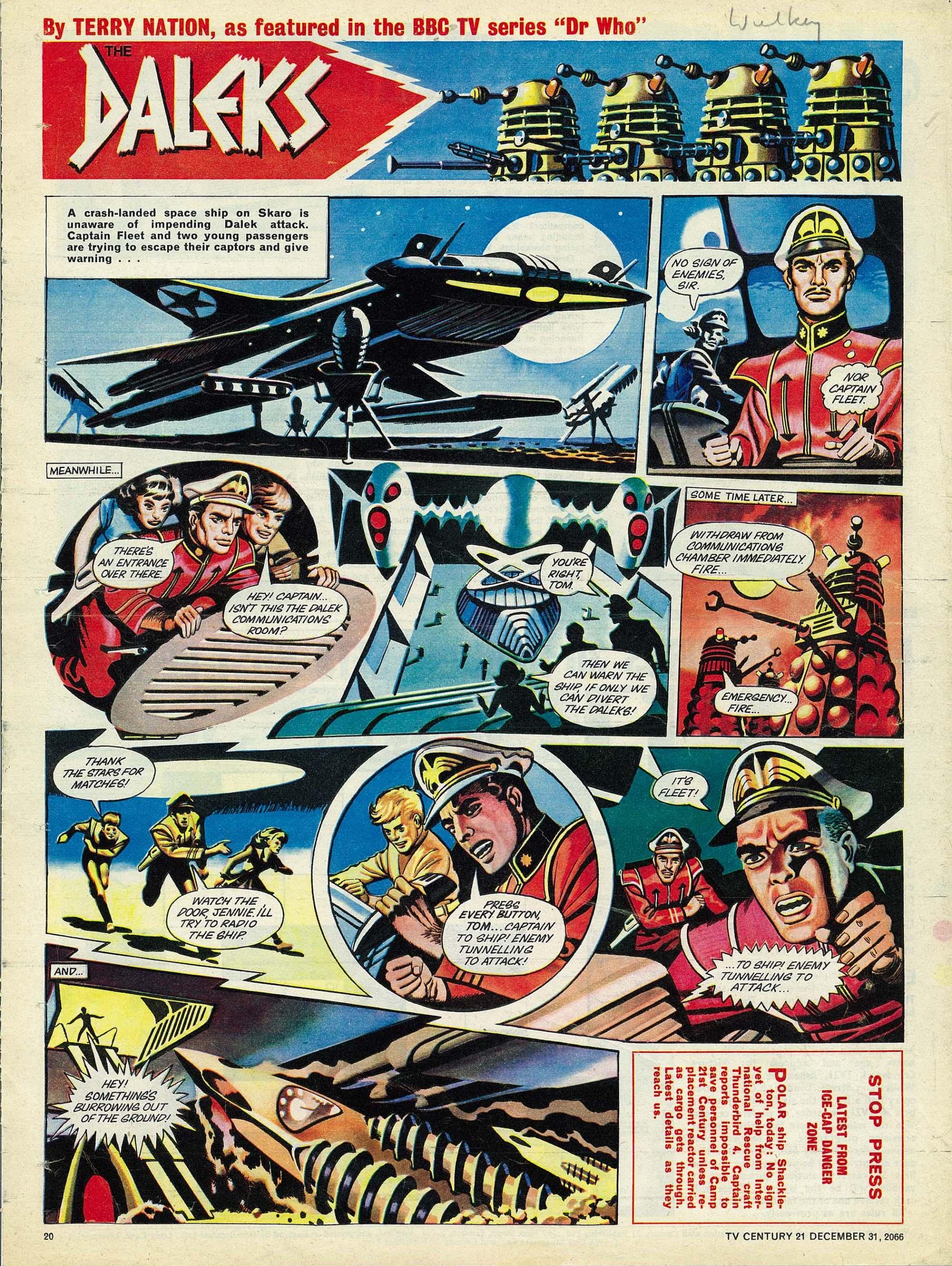 Read online TV Century 21 (TV 21) comic -  Issue #102 - 19