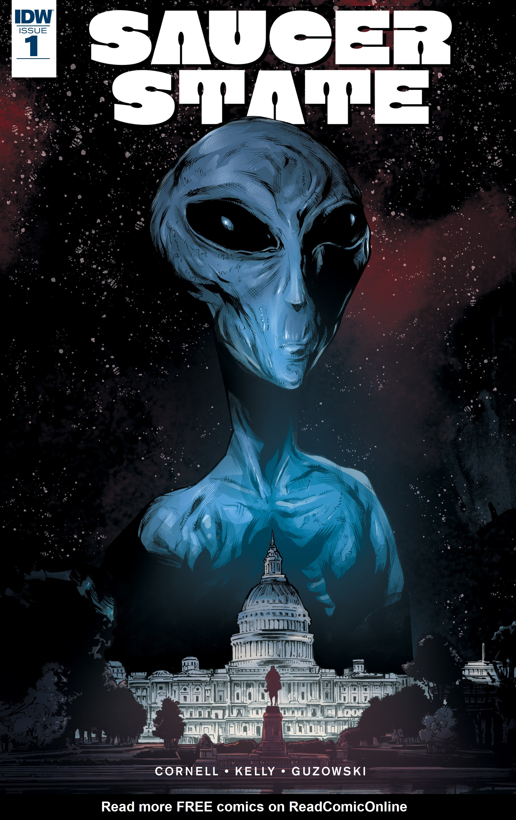 Read online Saucer State comic -  Issue #1 - 1