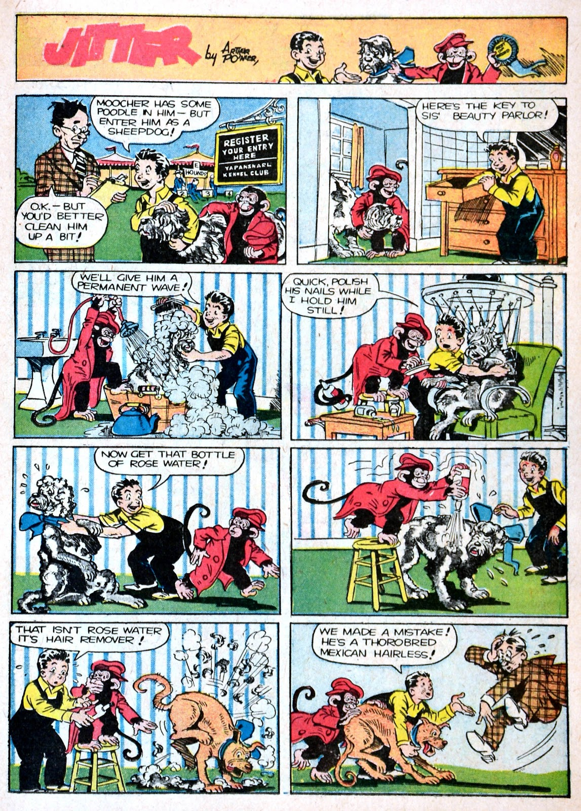 Read online Famous Funnies comic -  Issue #87 - 19
