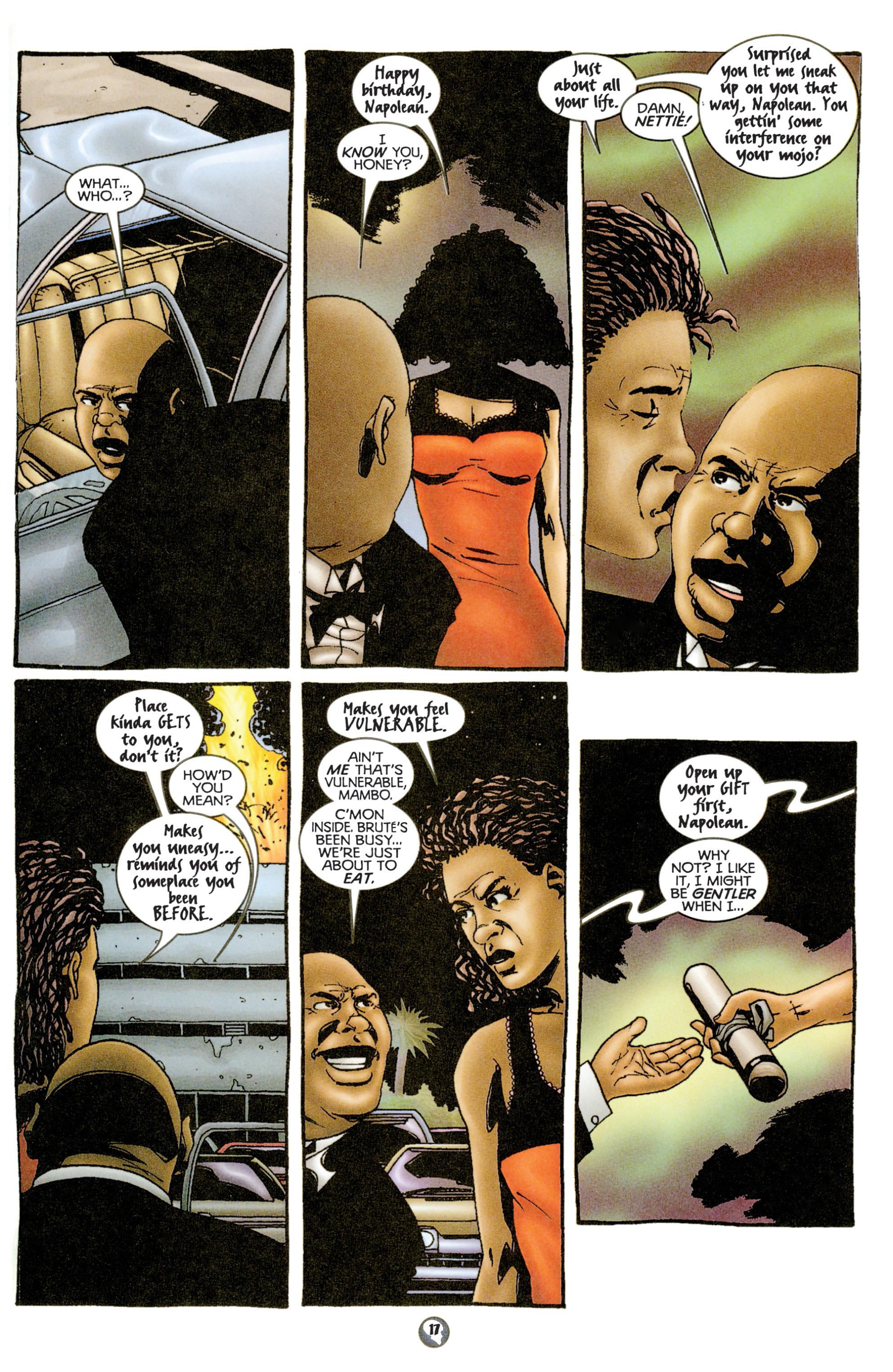 Read online Shadowman (1997) comic -  Issue #15 - 14