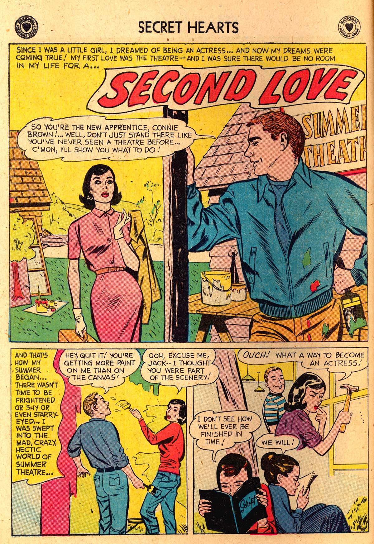 Read online Secret Hearts comic -  Issue #52 - 10