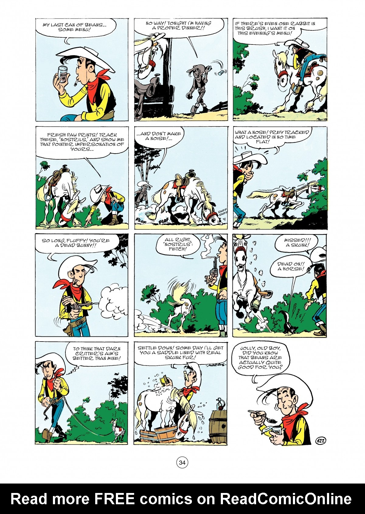Read online A Lucky Luke Adventure comic -  Issue #43 - 34