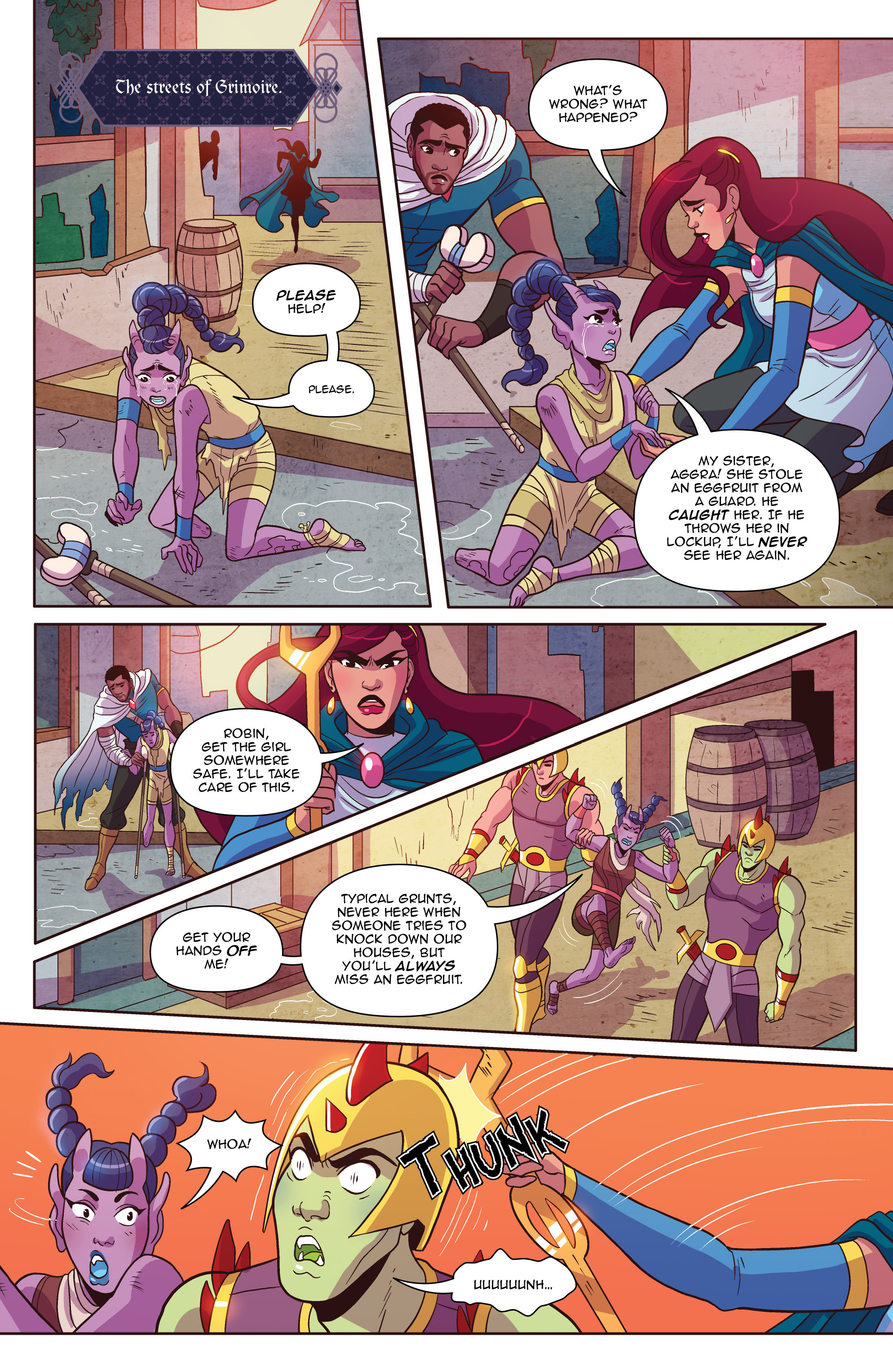 Read online Another Castle comic -  Issue #3 - 24