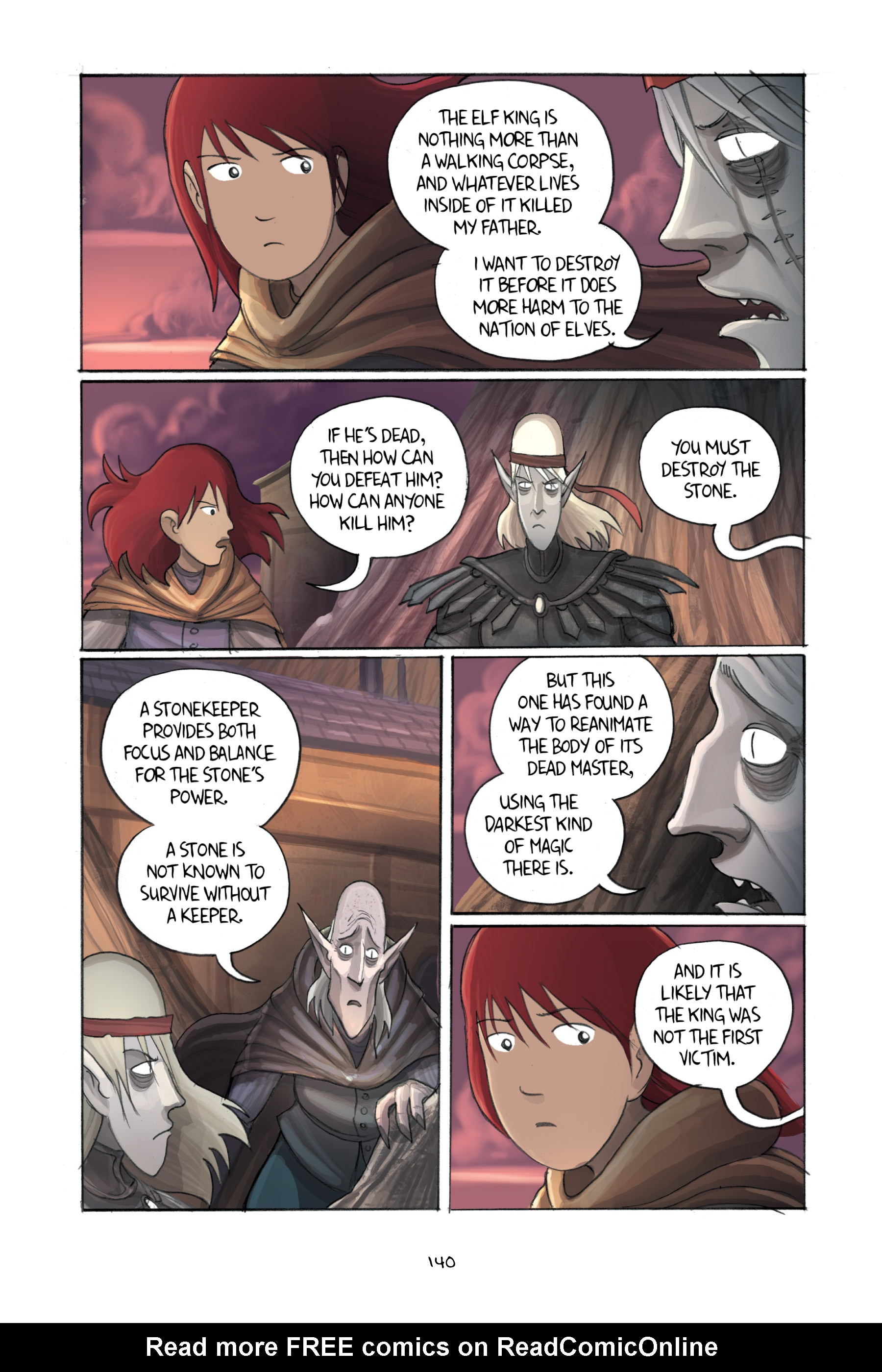 Read online Amulet comic -  Issue #3 - 137