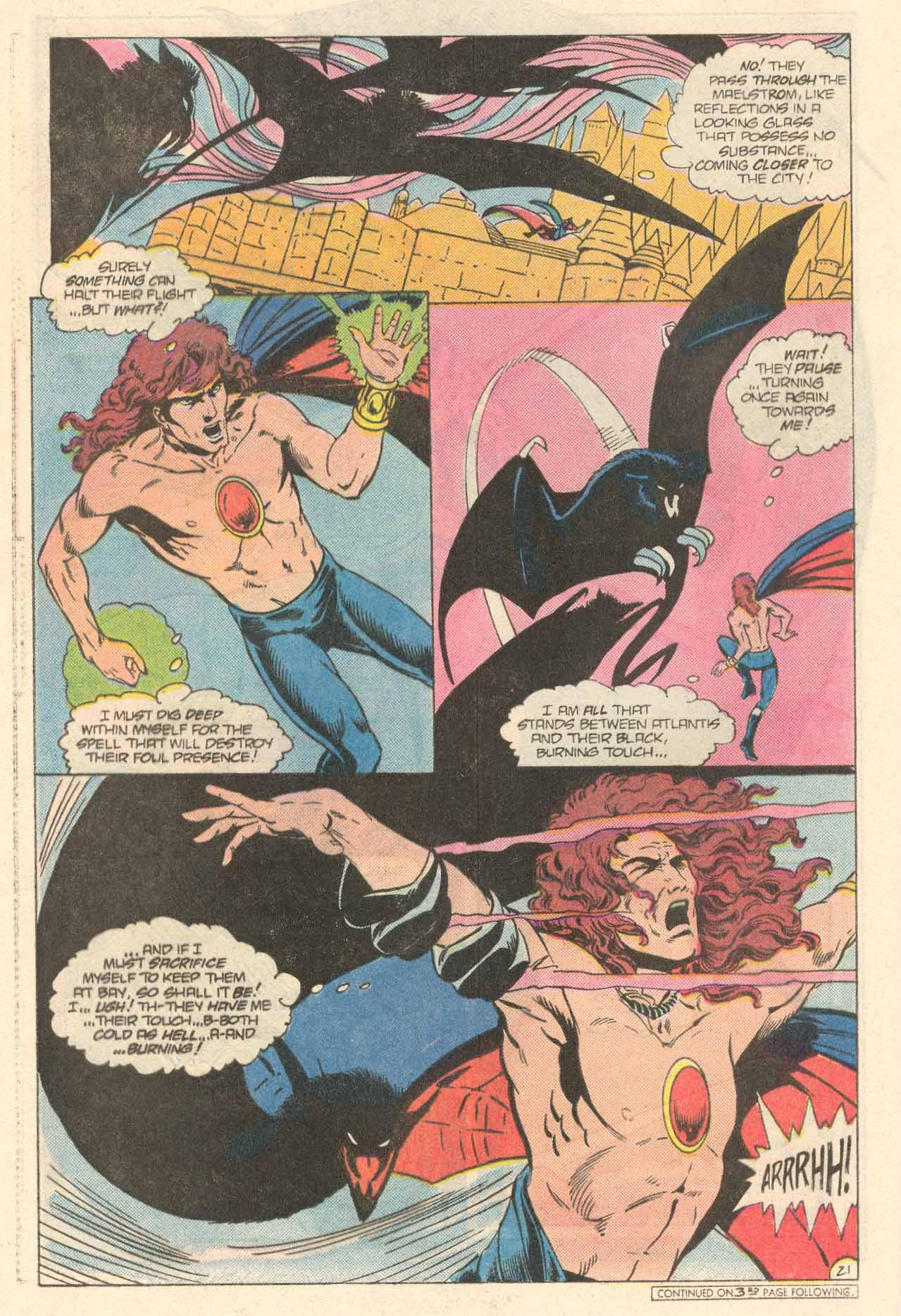 Read online Arion, Lord of Atlantis comic -  Issue #34 - 22