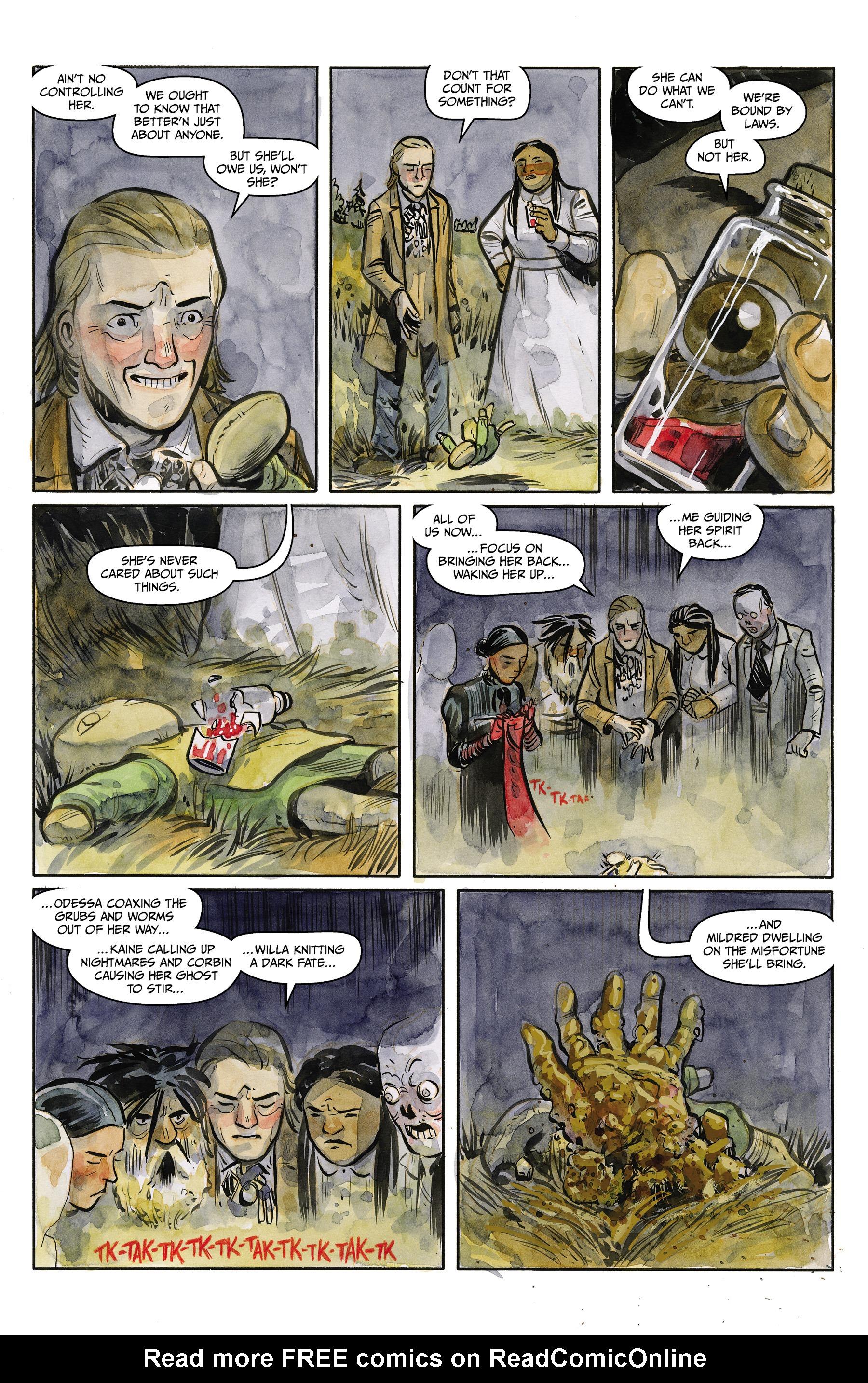 Read online Harrow County comic -  Issue #24 - 22