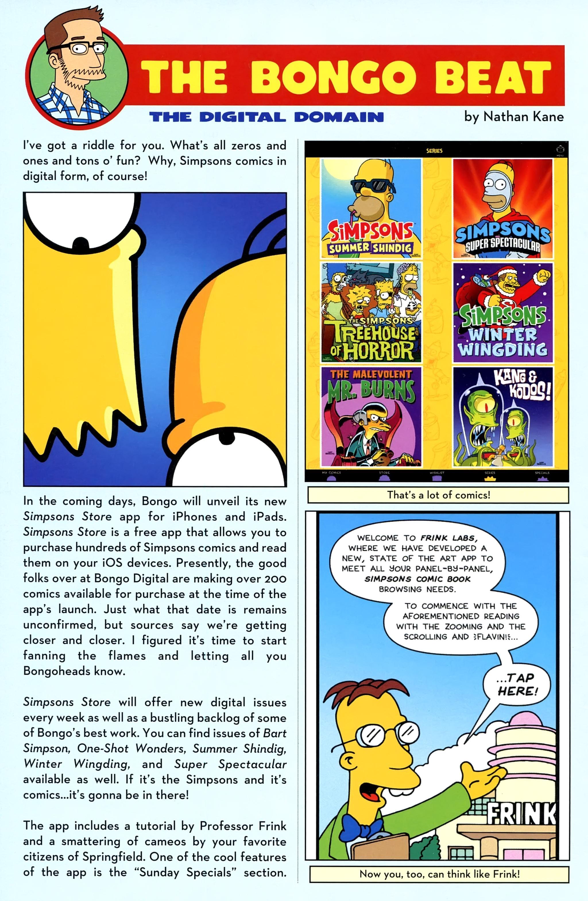 Read online Simpsons Comics comic -  Issue #220 - 28