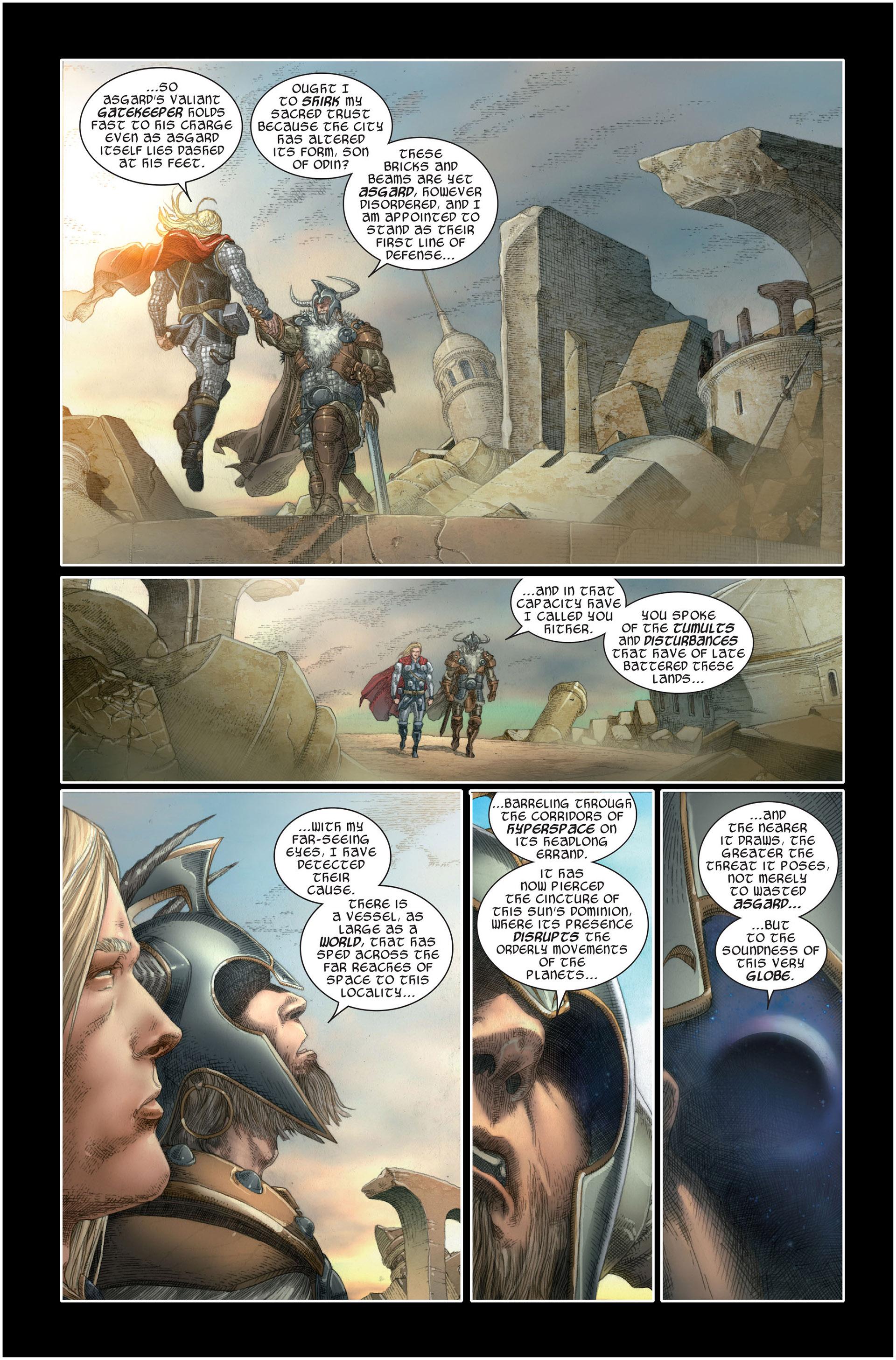 Read online Astonishing Thor comic -  Issue #1 - 9
