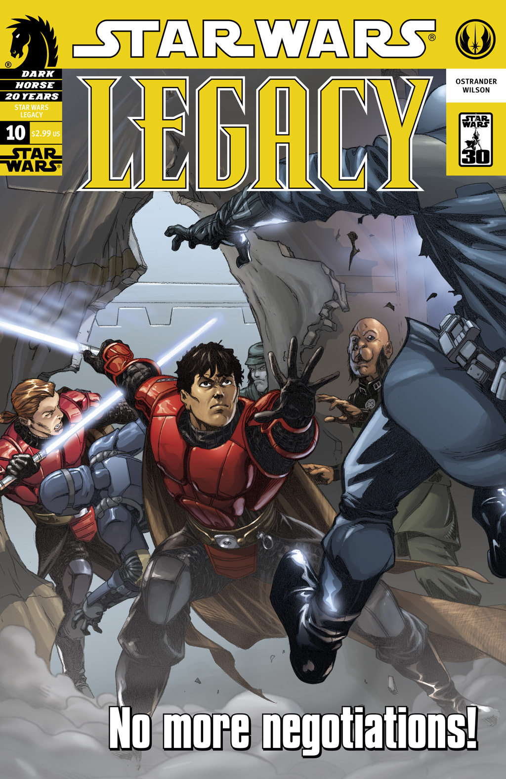 Star Wars: Legacy (2006) issue 10 - Page 1
