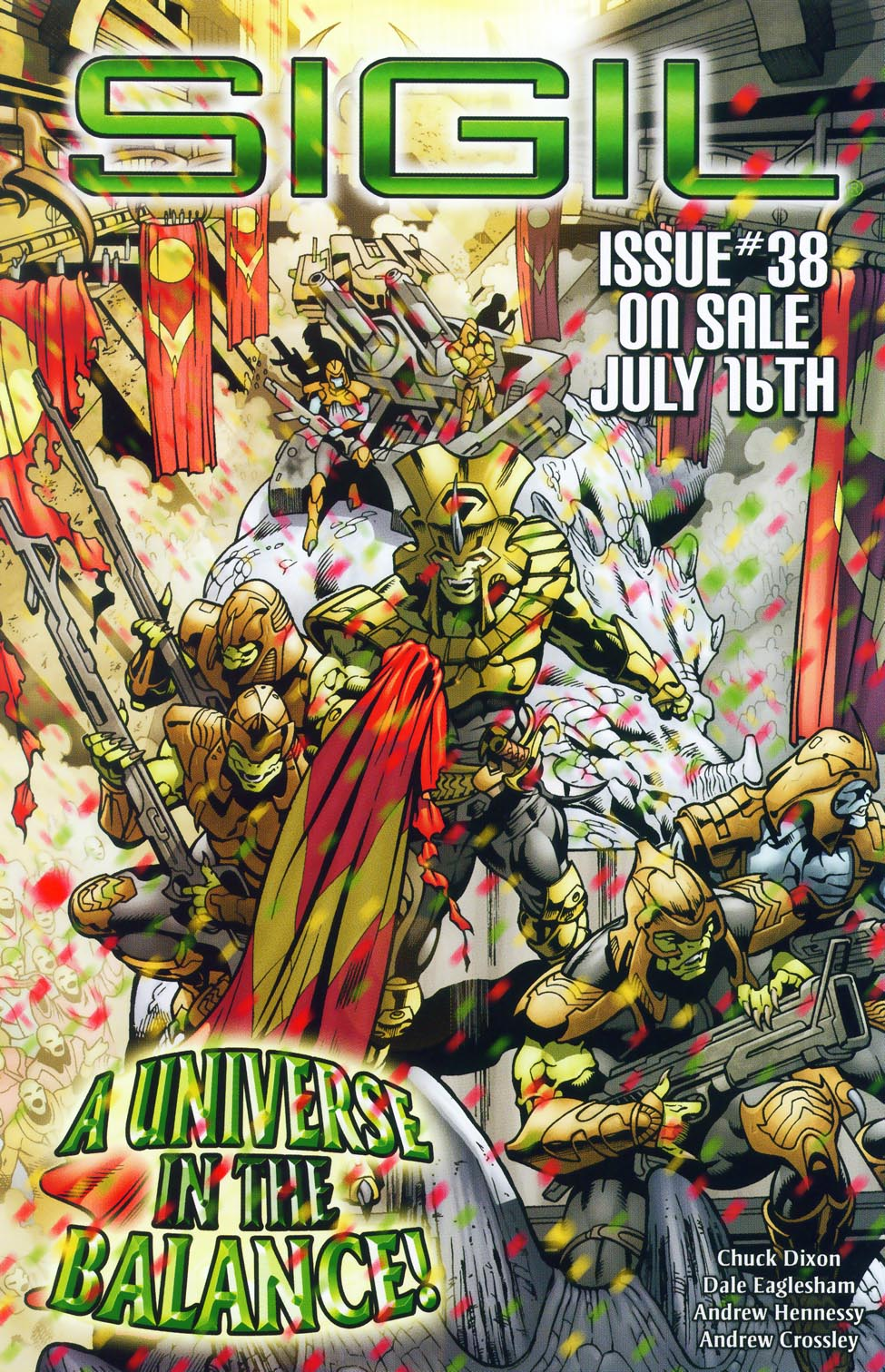 Read online Sigil (2000) comic -  Issue #37 - 22