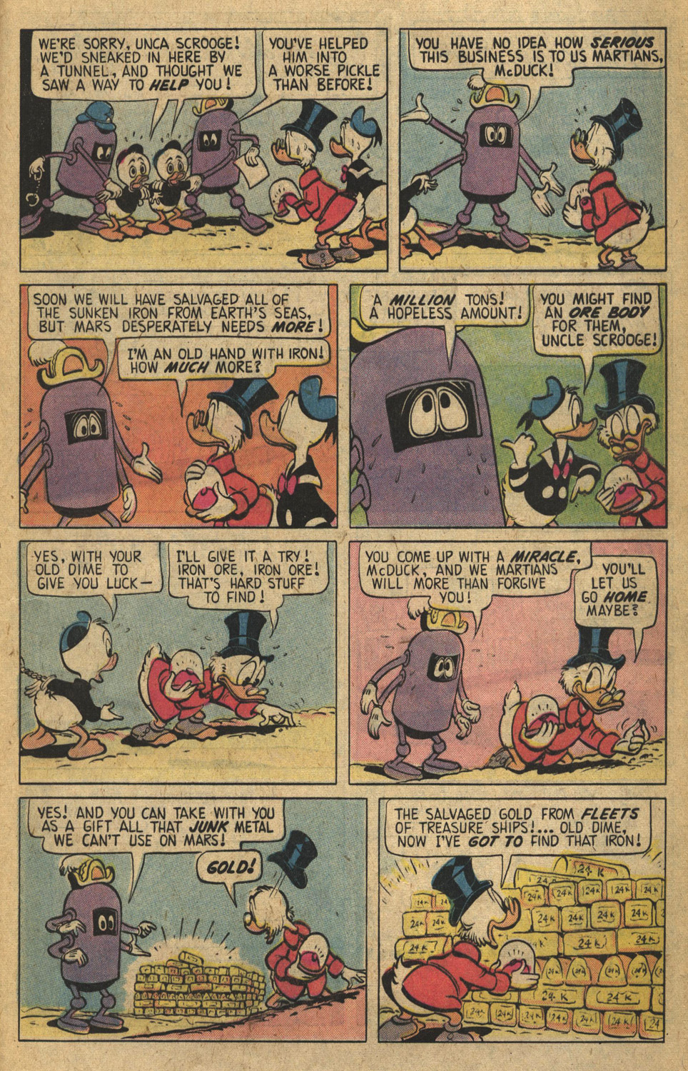 Read online Uncle Scrooge (1953) comic -  Issue #149 - 25