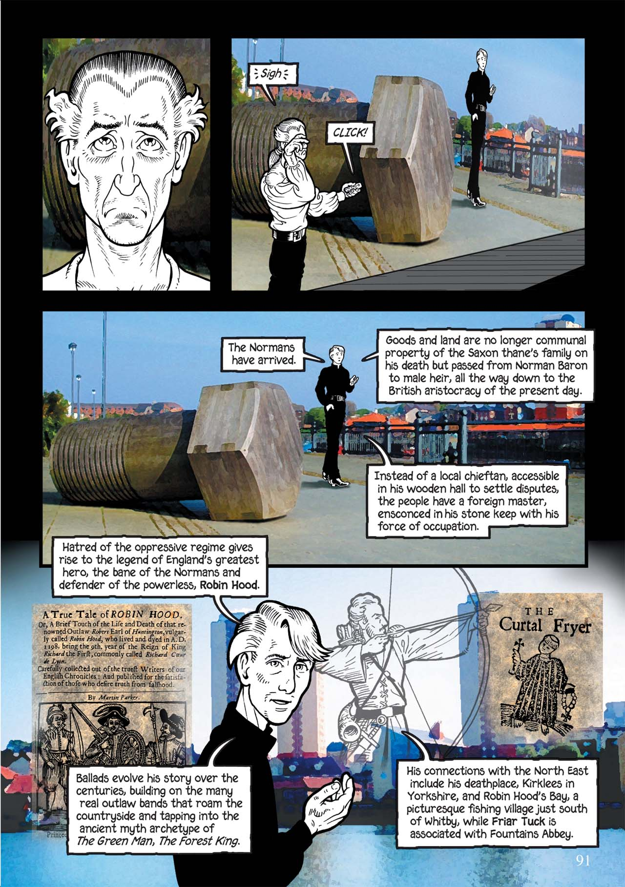 Read online Alice in Sunderland comic -  Issue # Full - 95