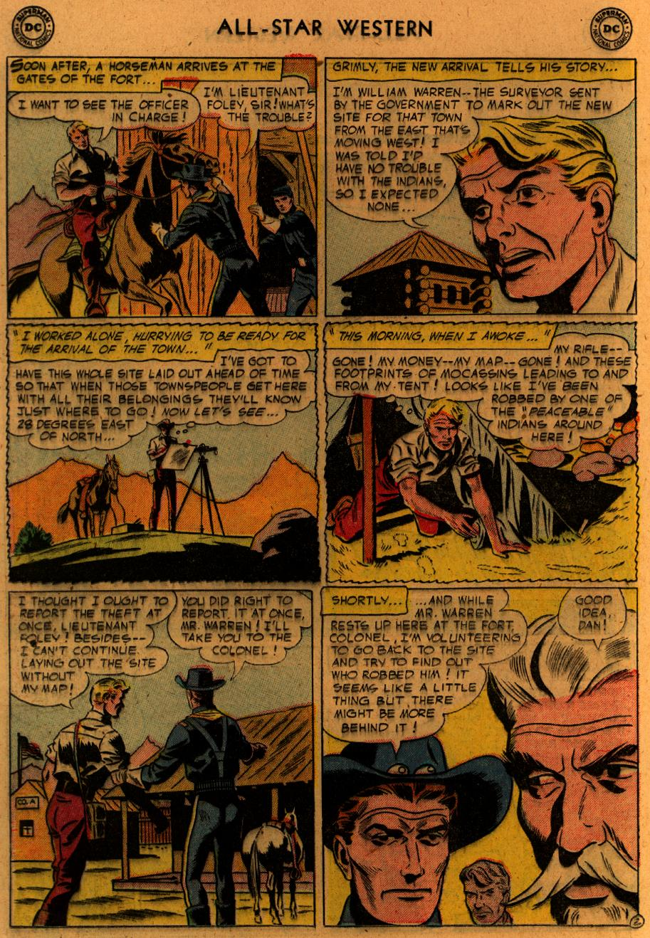 Read online All-Star Western (1951) comic -  Issue #89 - 21