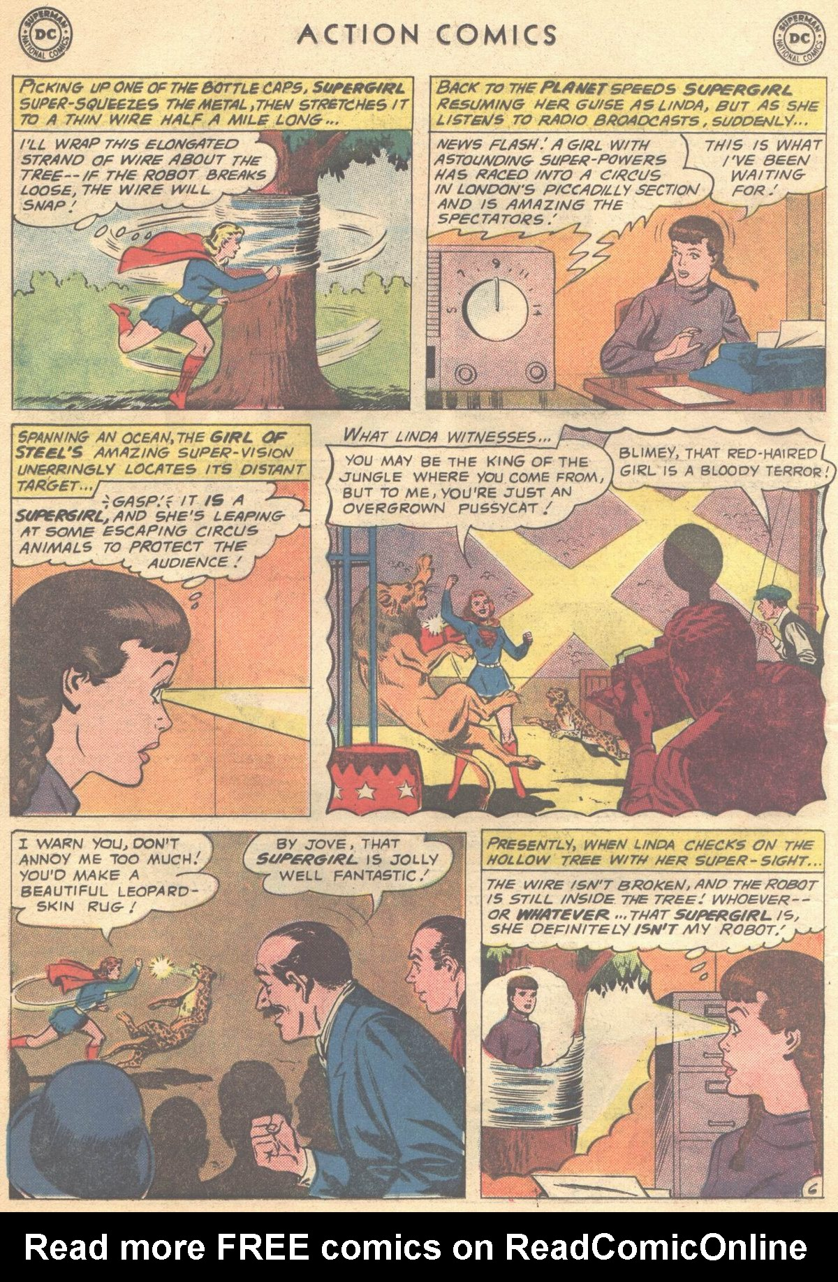 Read online Action Comics (1938) comic -  Issue #268 - 24