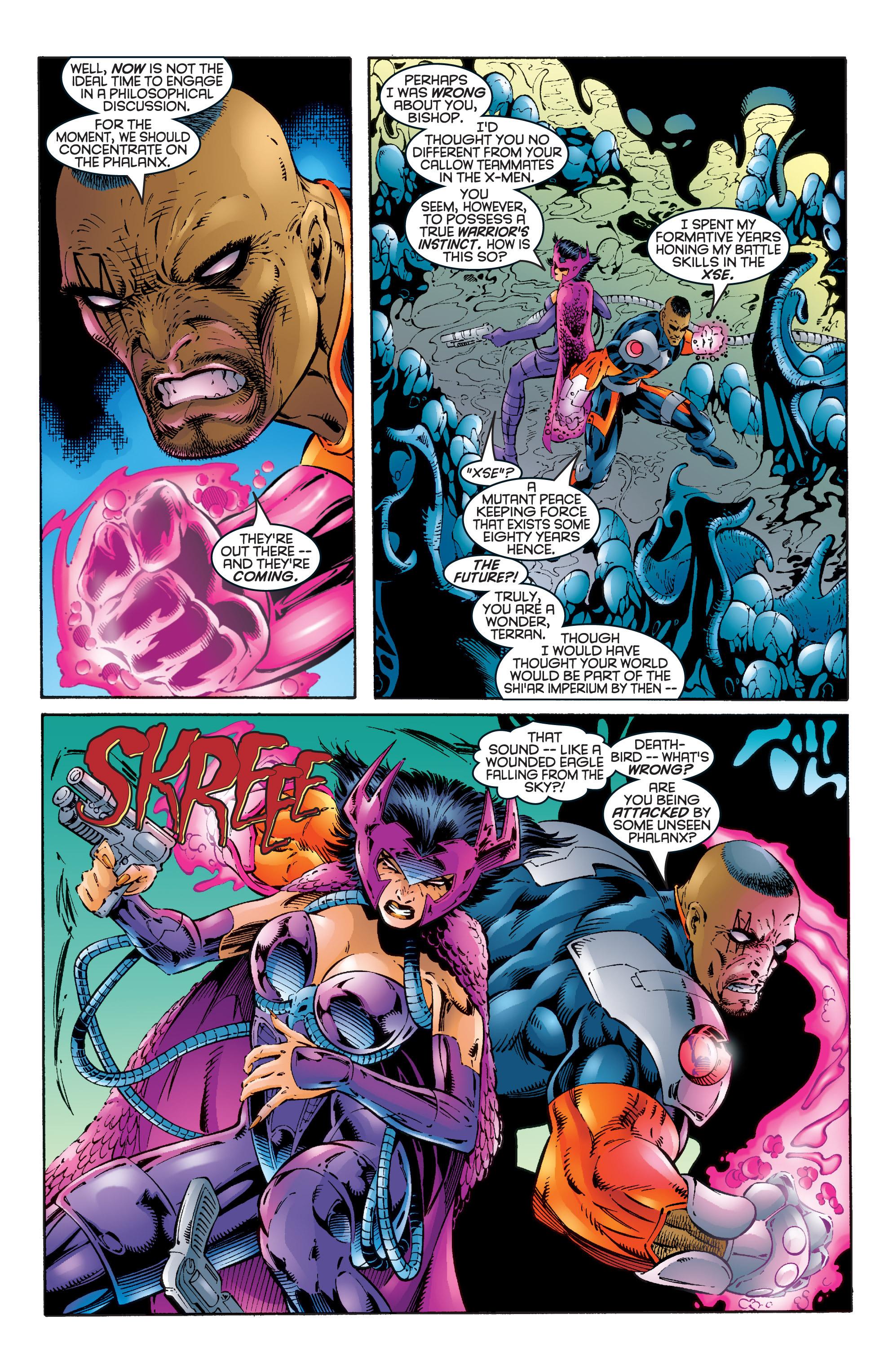 Read online Uncanny X-Men (1963) comic -  Issue #344 - 11