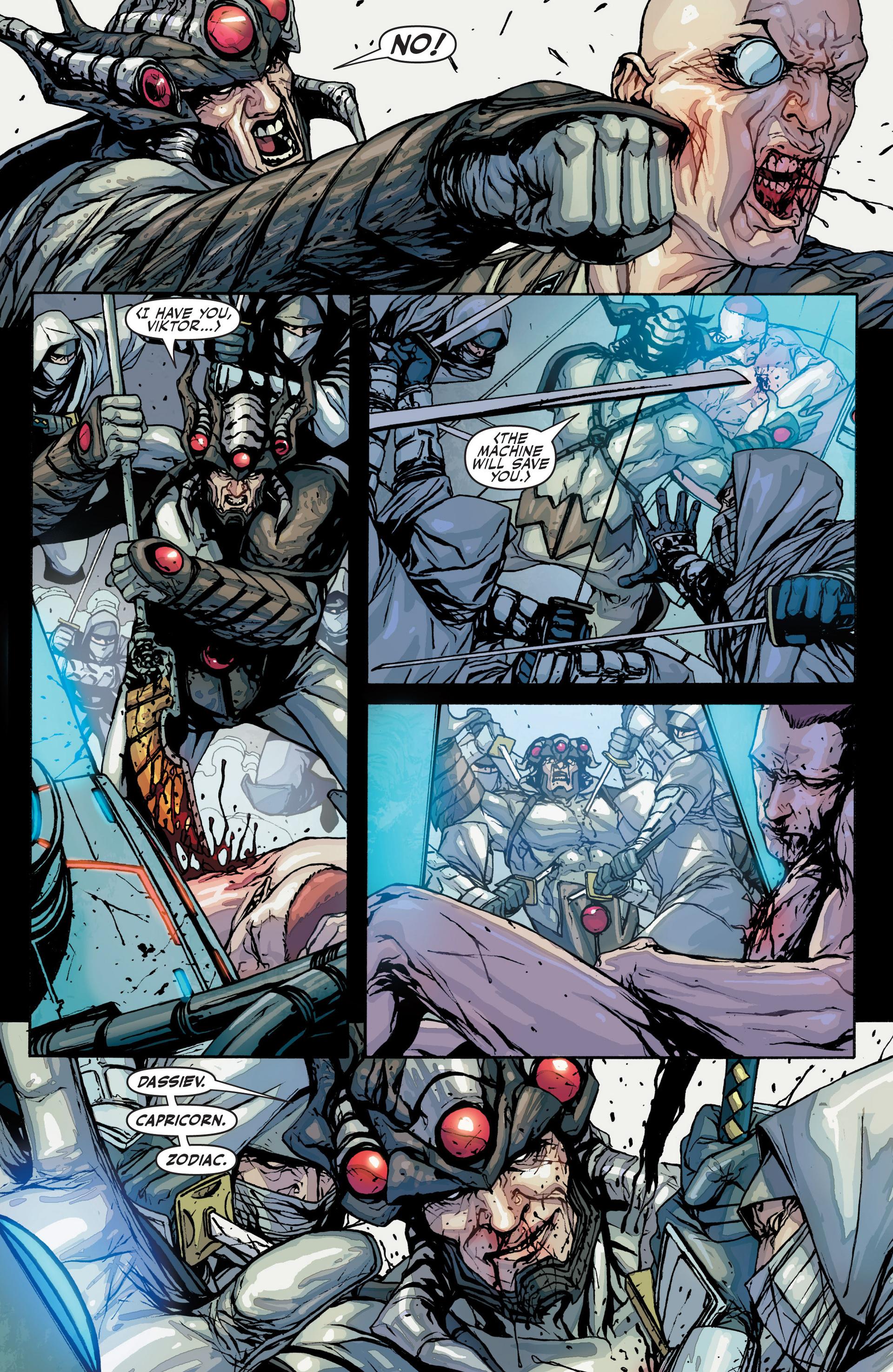 Read online Secret Warriors comic -  Issue #25 - 29
