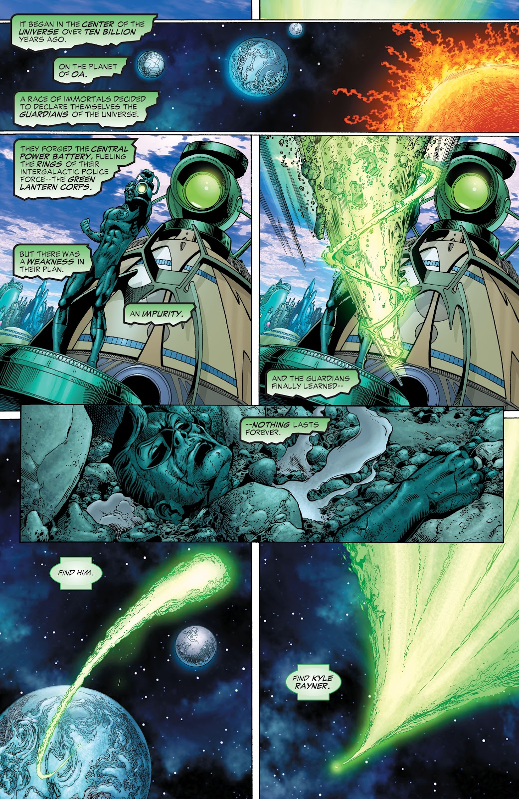 Read online Green Lantern by Geoff Johns comic -  Issue # TPB 1 (Part 1) - 44