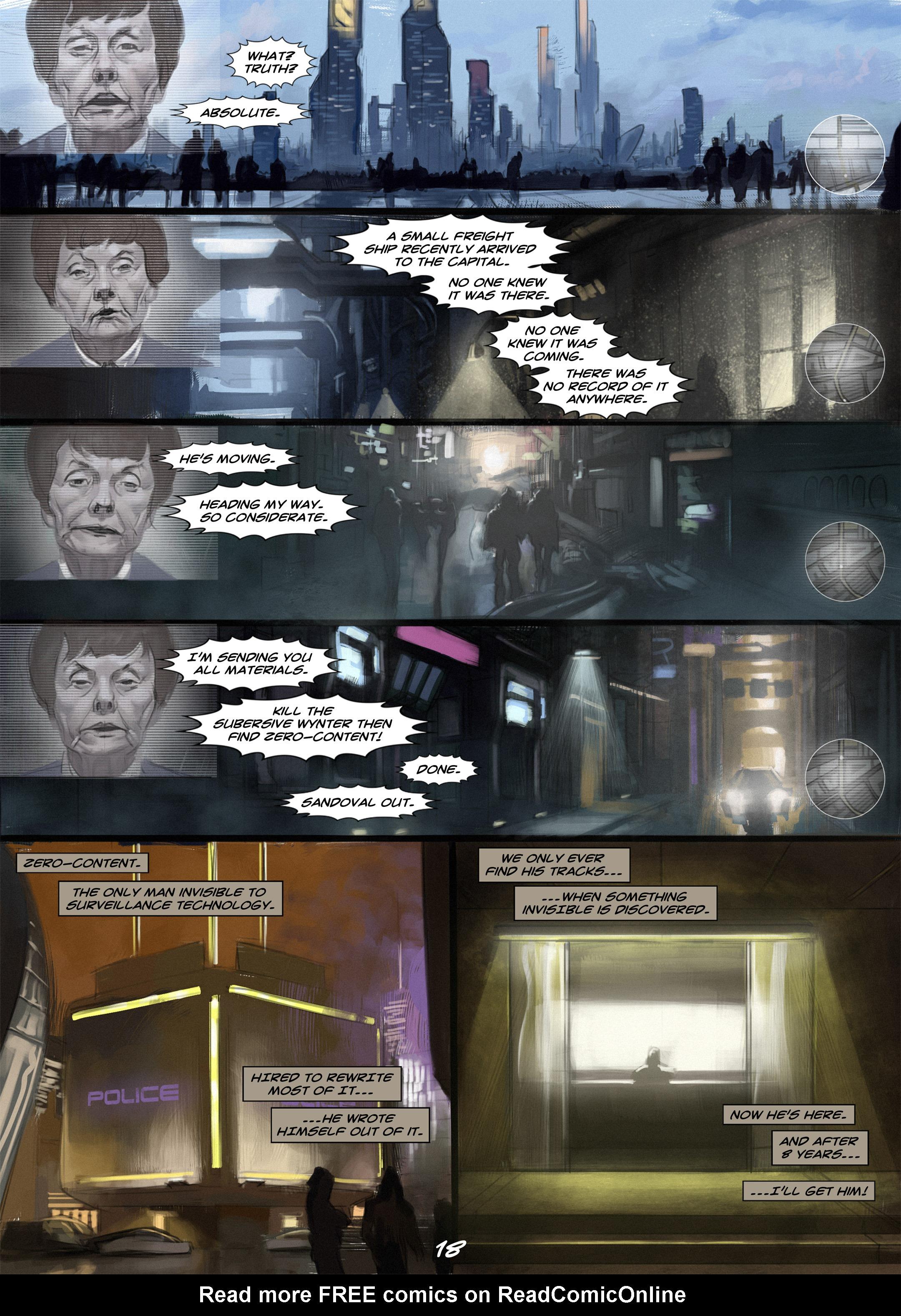 Read online Wynter comic -  Issue #2 - 19