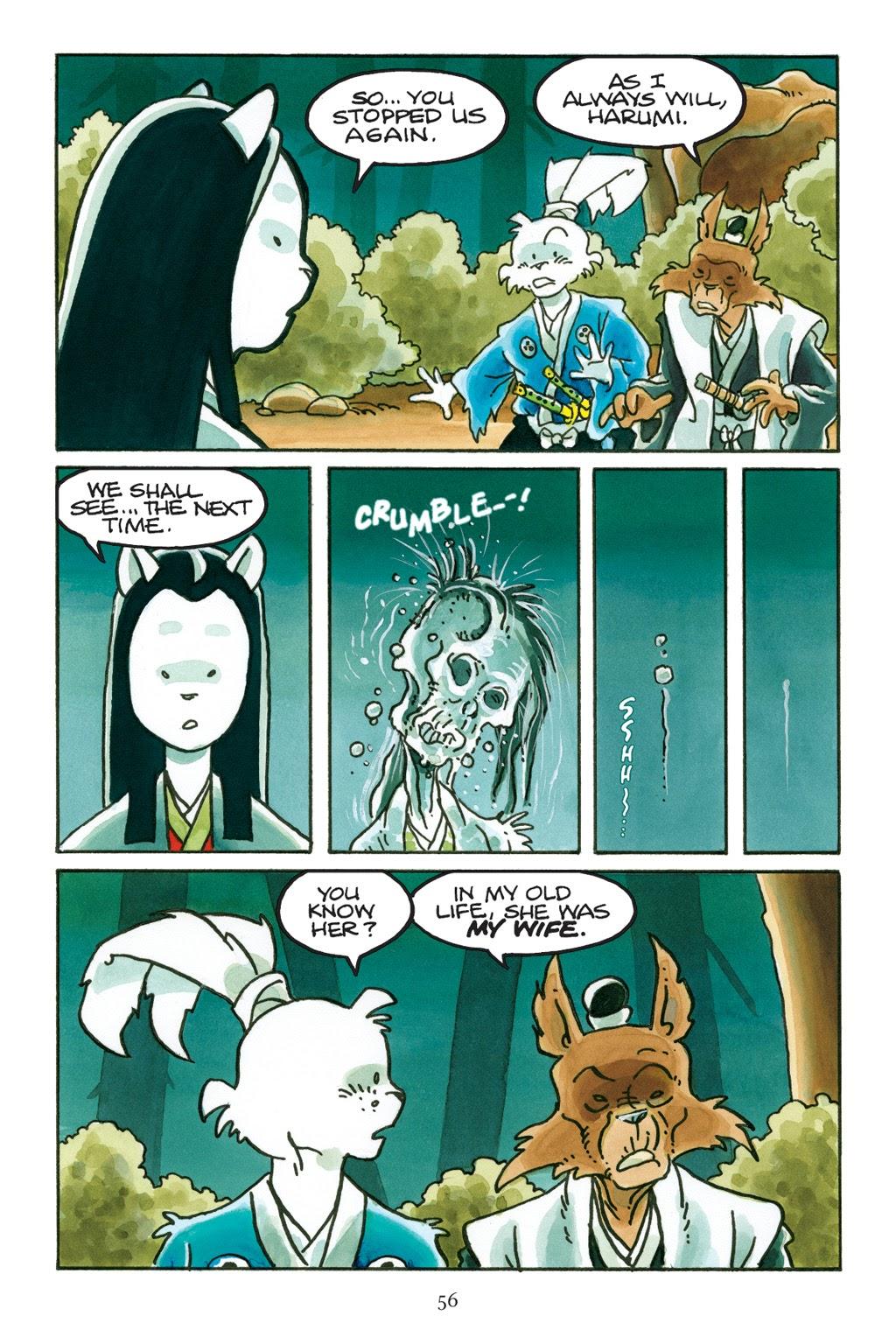 Read online Usagi Yojimbo: Yokai comic -  Issue # Full - 53