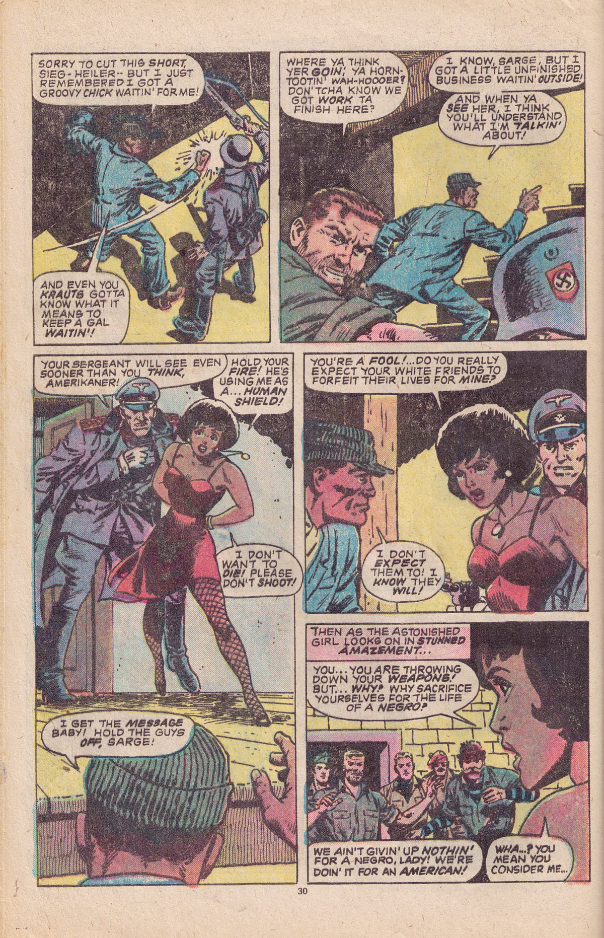 Read online Sgt. Fury comic -  Issue #151 - 32